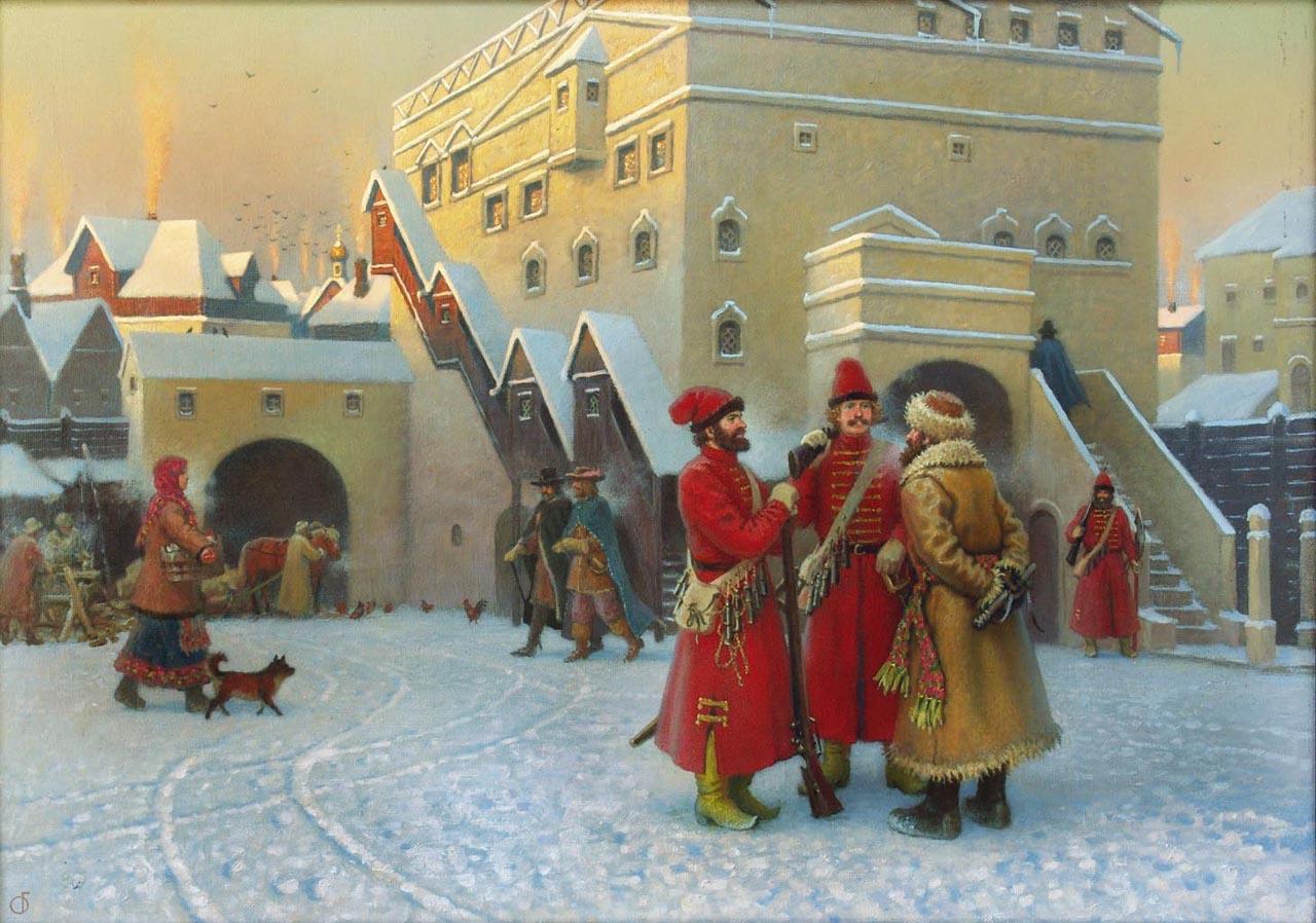 Посольский двор XVII века