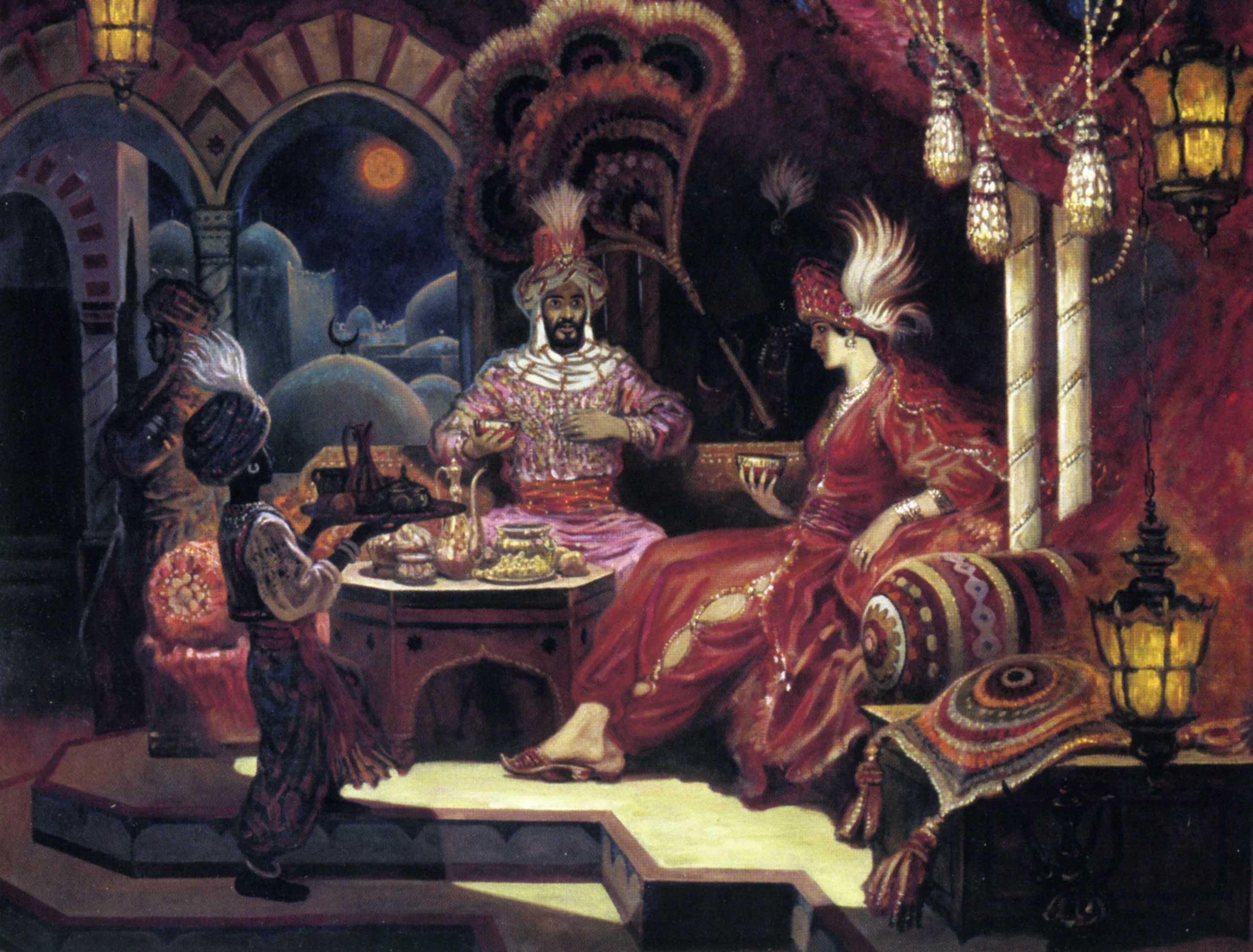 Сказка красного дворца