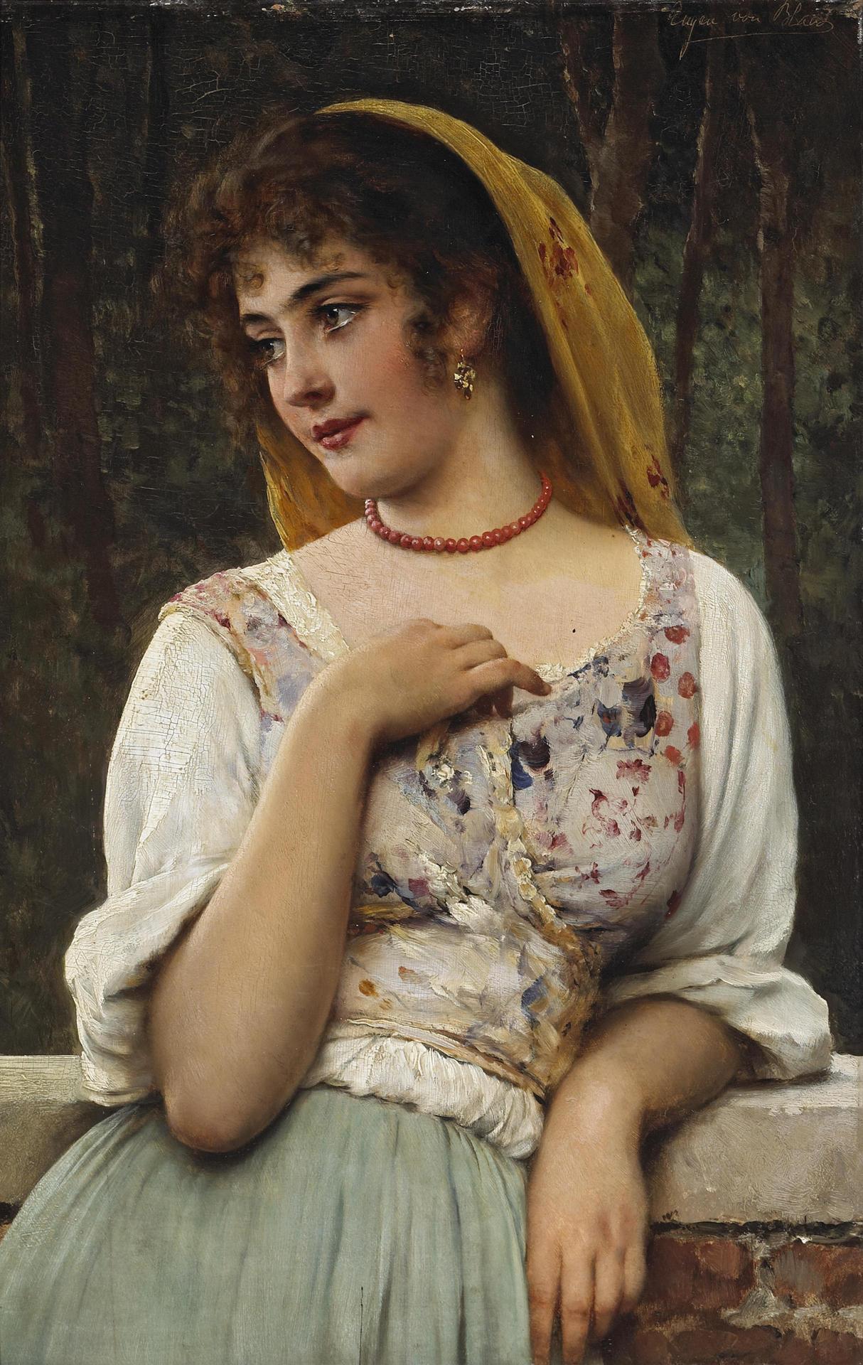 A pensive beauty