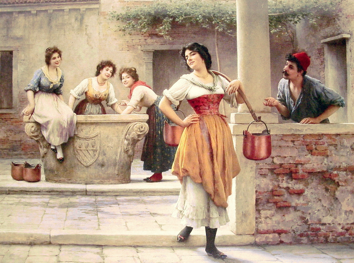 Flirtation_at_the_Well