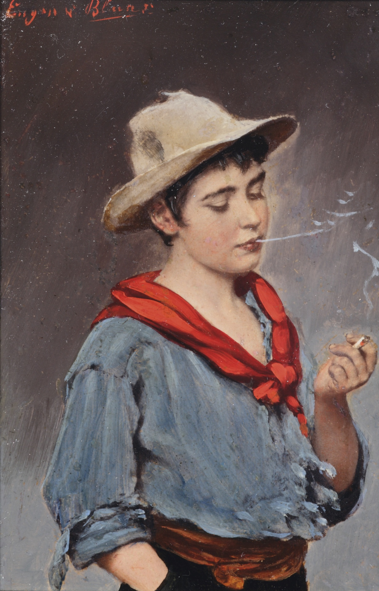The little smoker