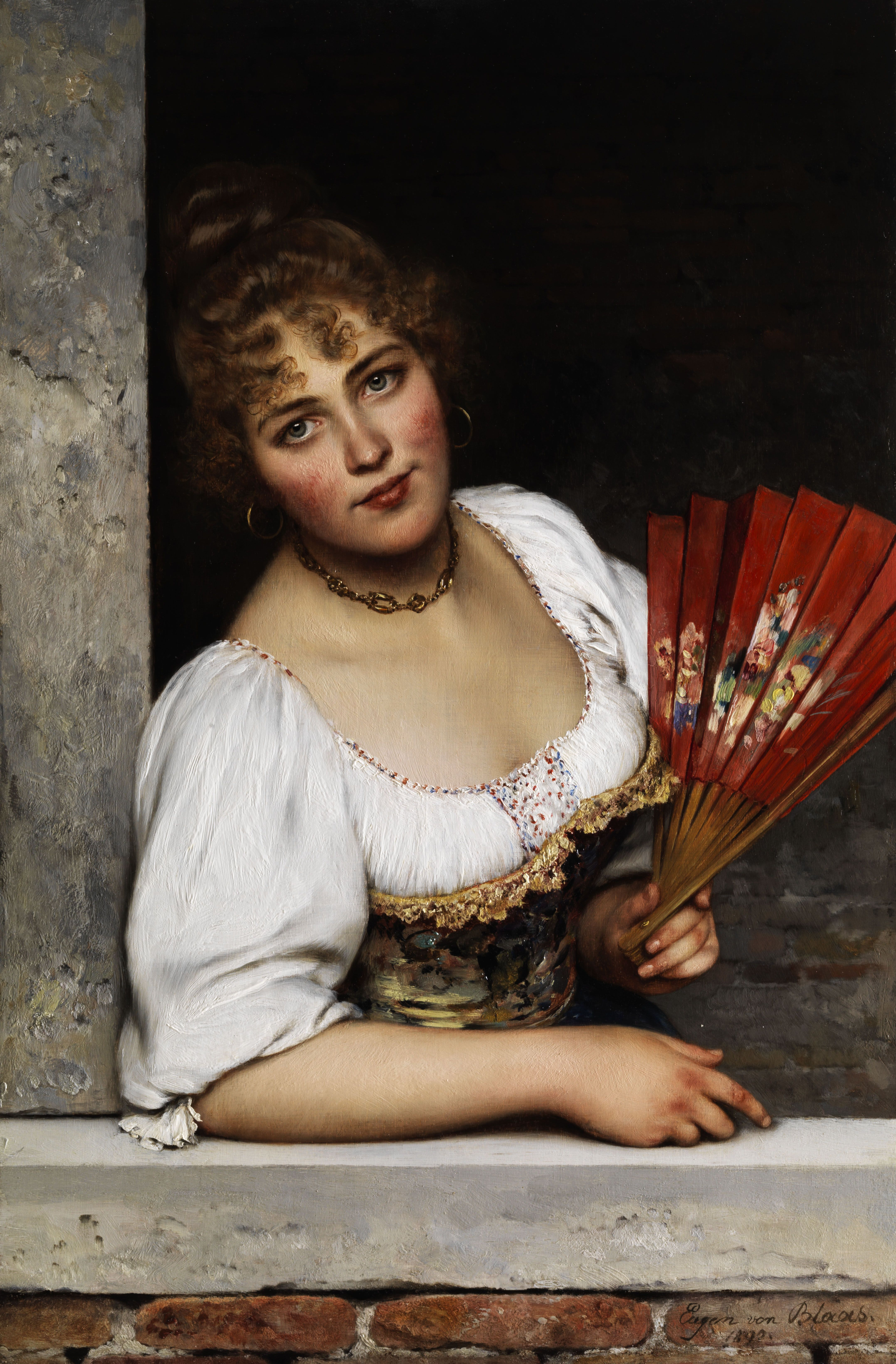 The Red Fan