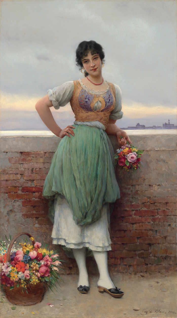 The Venetian Flower Seller