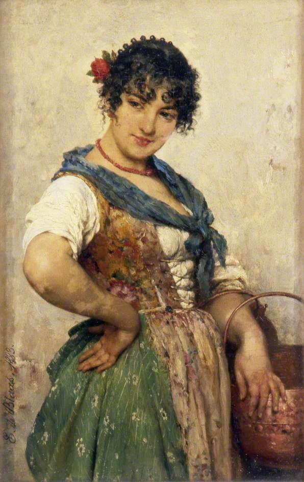 Venetian girl, 1883