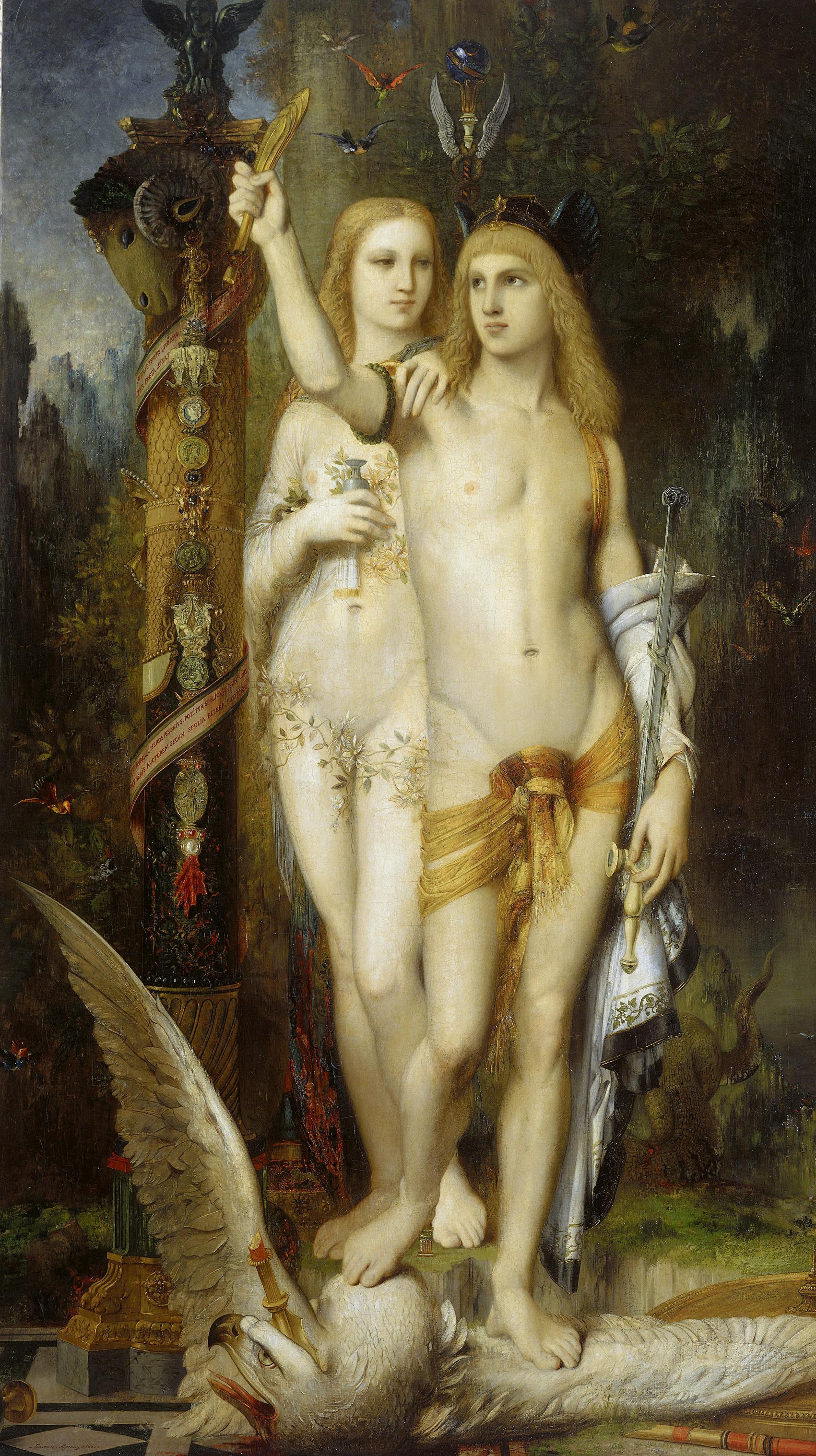 1865_Ясон и Медея (204 х 115.5 см) (Париж, музей Орсэ)