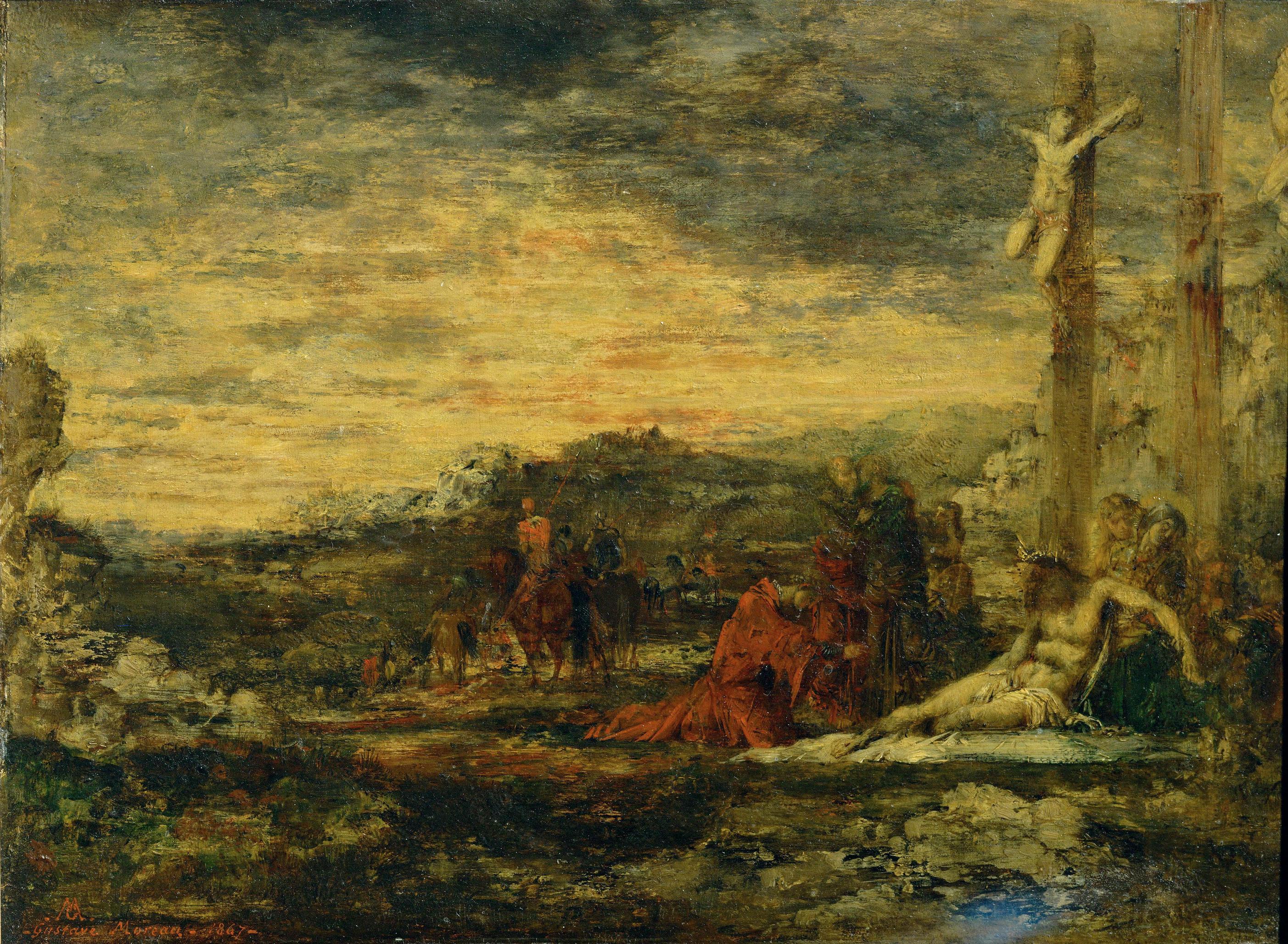 1867_Голгофа (24 х 32 см) (Париж, музей Орсэ)