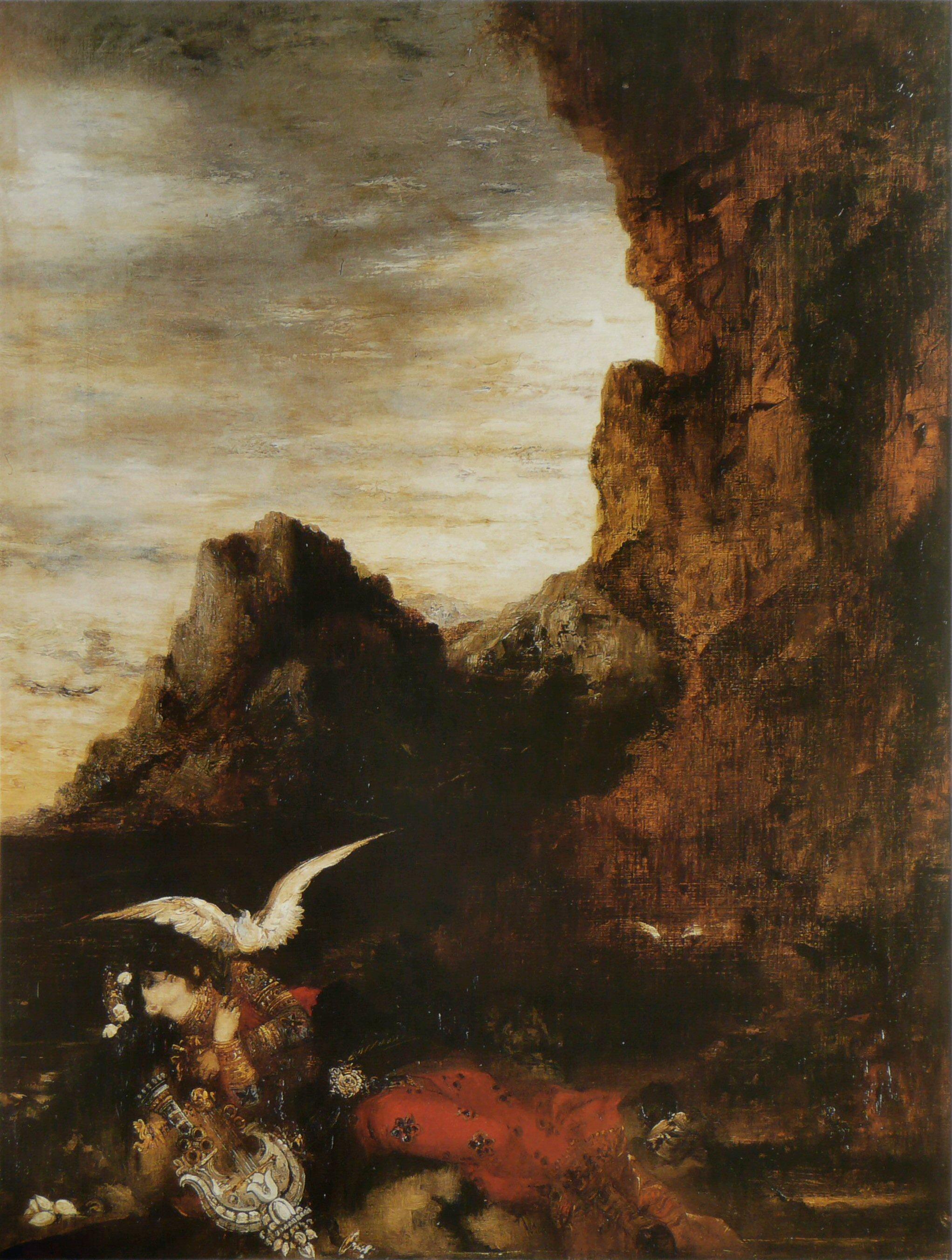 1870 (ок)_Смерть Сапфо (81 х 62 см) (частная коллекция)