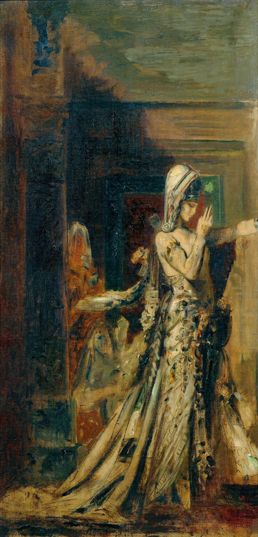 1872_Саломея (80 х 40 см) (Париж, музей Гюстава Моро)
