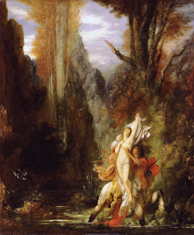 1872-1873_Деянира (осень) (55.4 х 45.5 см) (Лос-Анжелес, музей Пола Гетти)