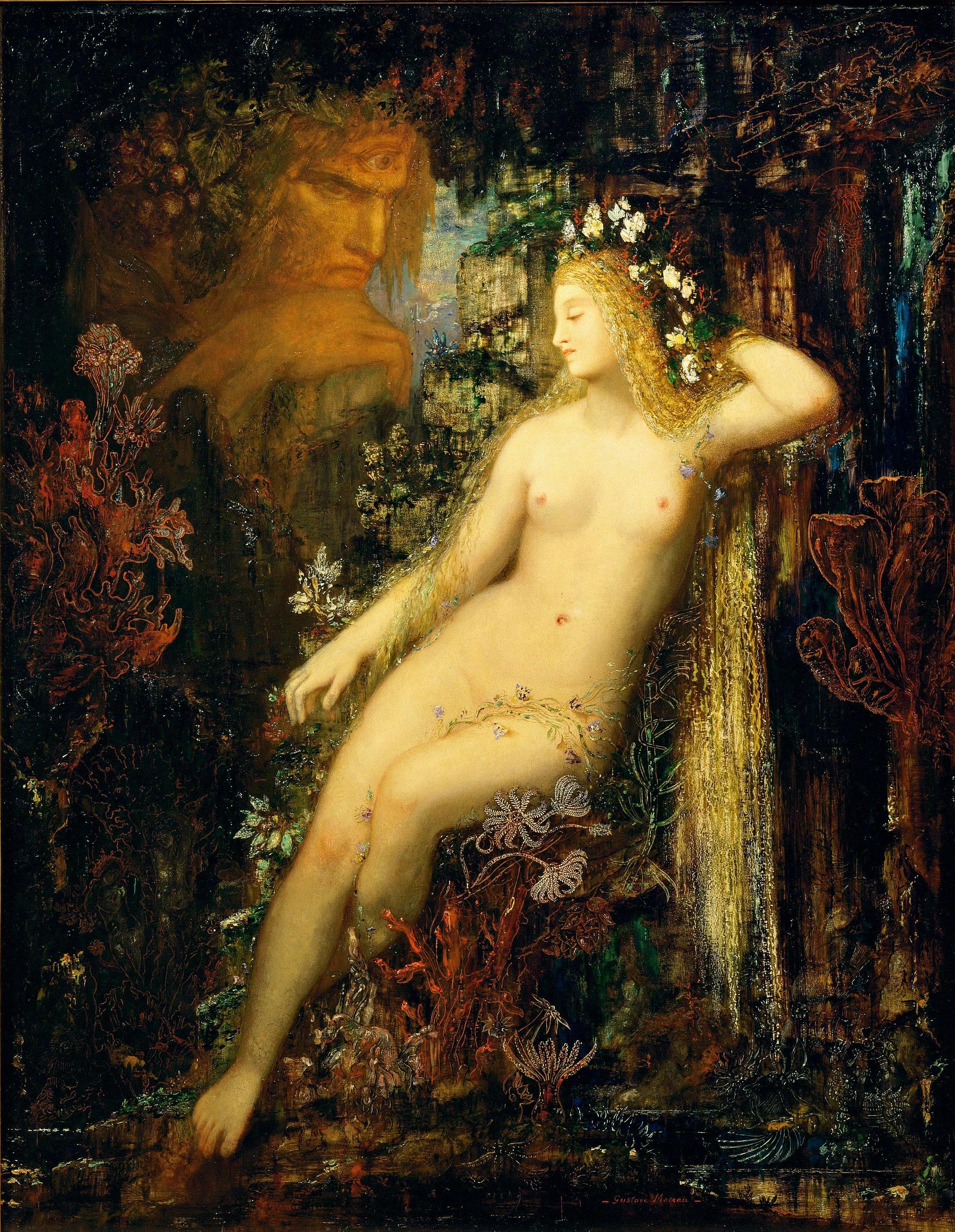 1880 (ок)_Галатея (85.5 х 66 см) (Париж, музей Орсэ)