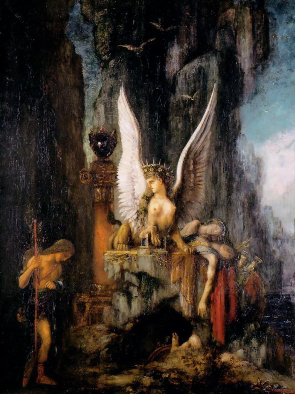 1888_Странник Эдип (Метц, Музей истории искусства)