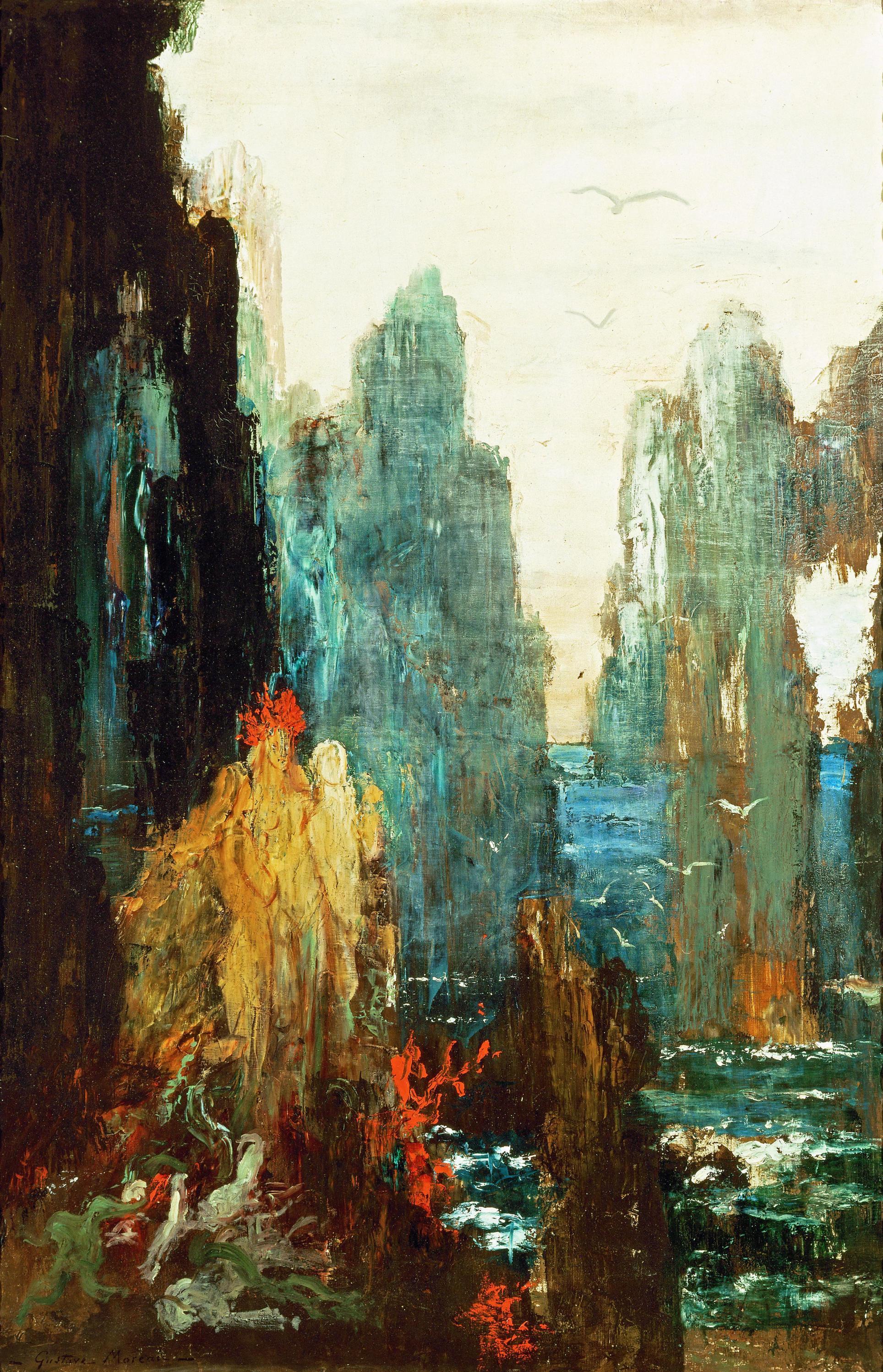 1890_Сирены (Париж, музей Гюстава Моро)