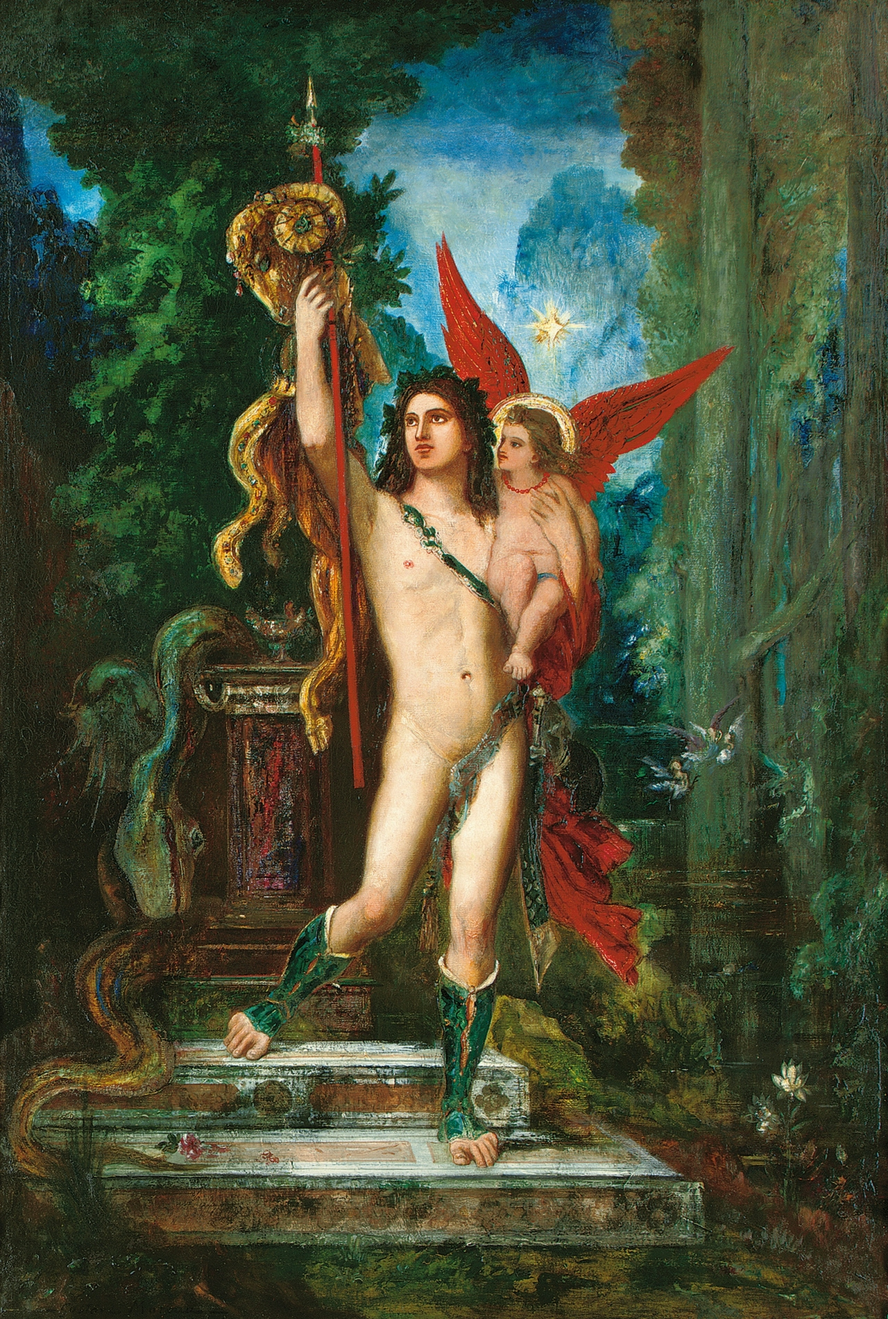 1890-1891_Ясон и Эрос (134 х 90.8 см)
