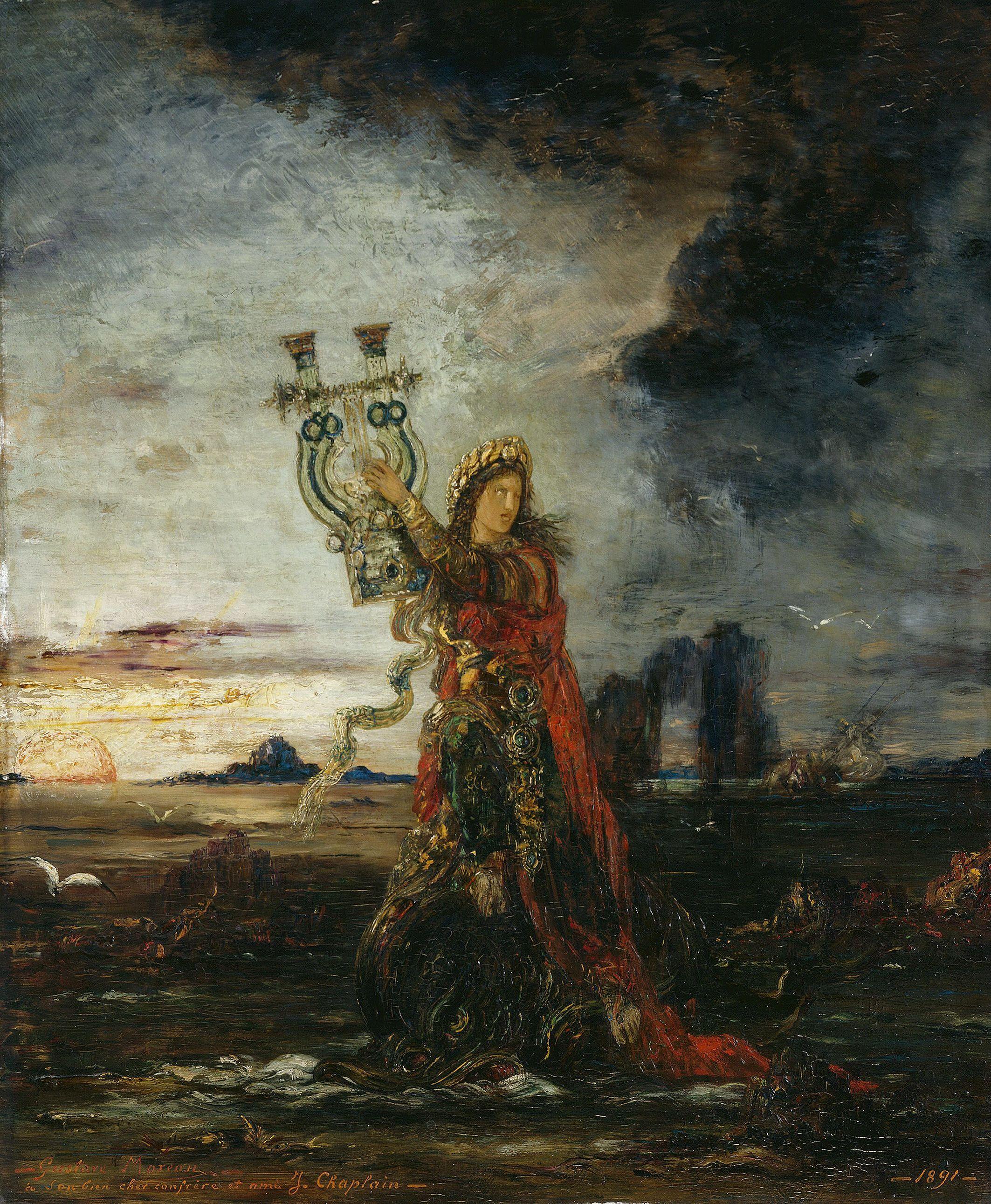 1891_Арион (45.5 х 37 см) (Париж, Петит Палас, Музей современного искусства)