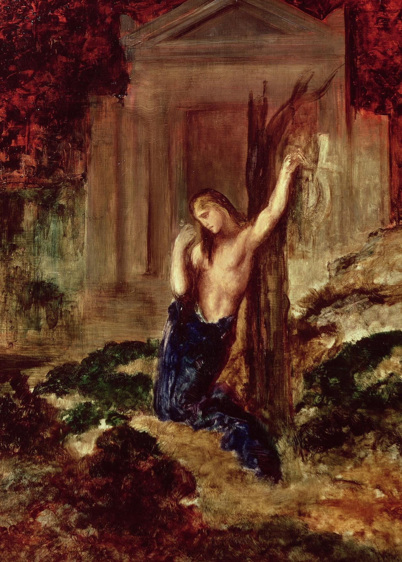 1891_Орфей на могиле Эвридики (Париж, музей Гюстава Моро)