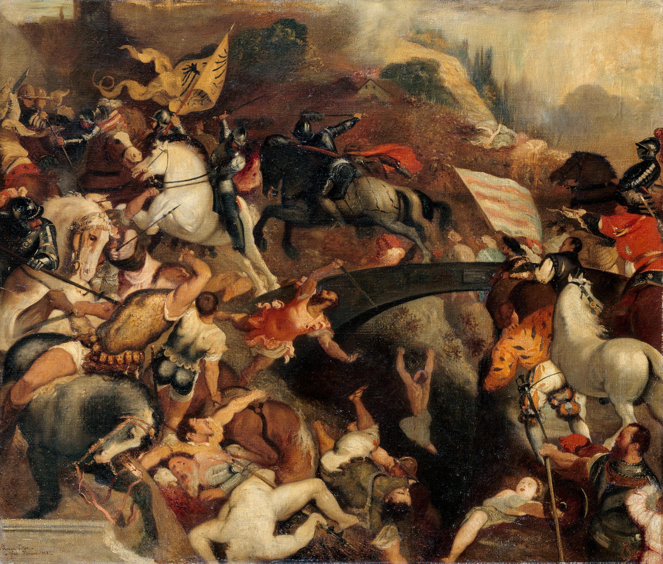 Копия картины Тициана