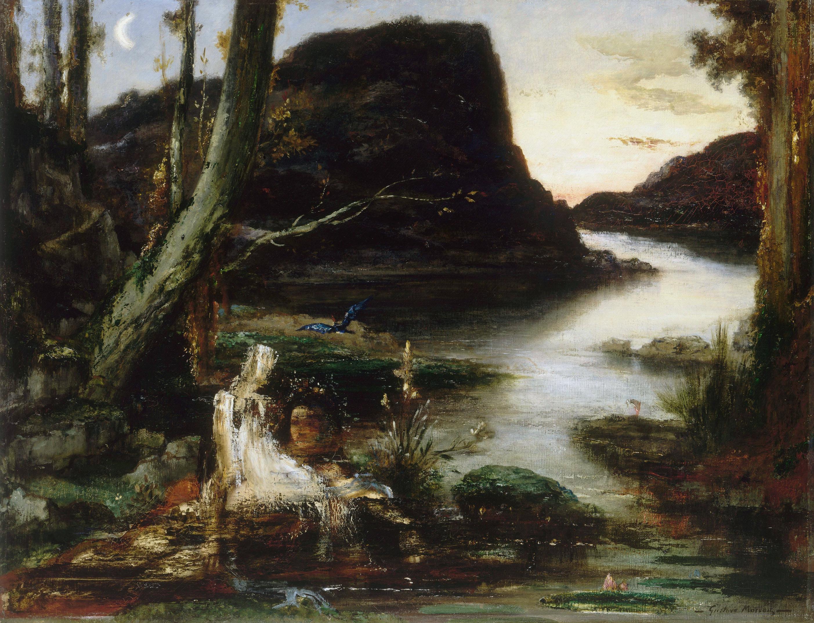 Нарцисс (92 х 118 см) (Париж, музей Гюстава Моро)