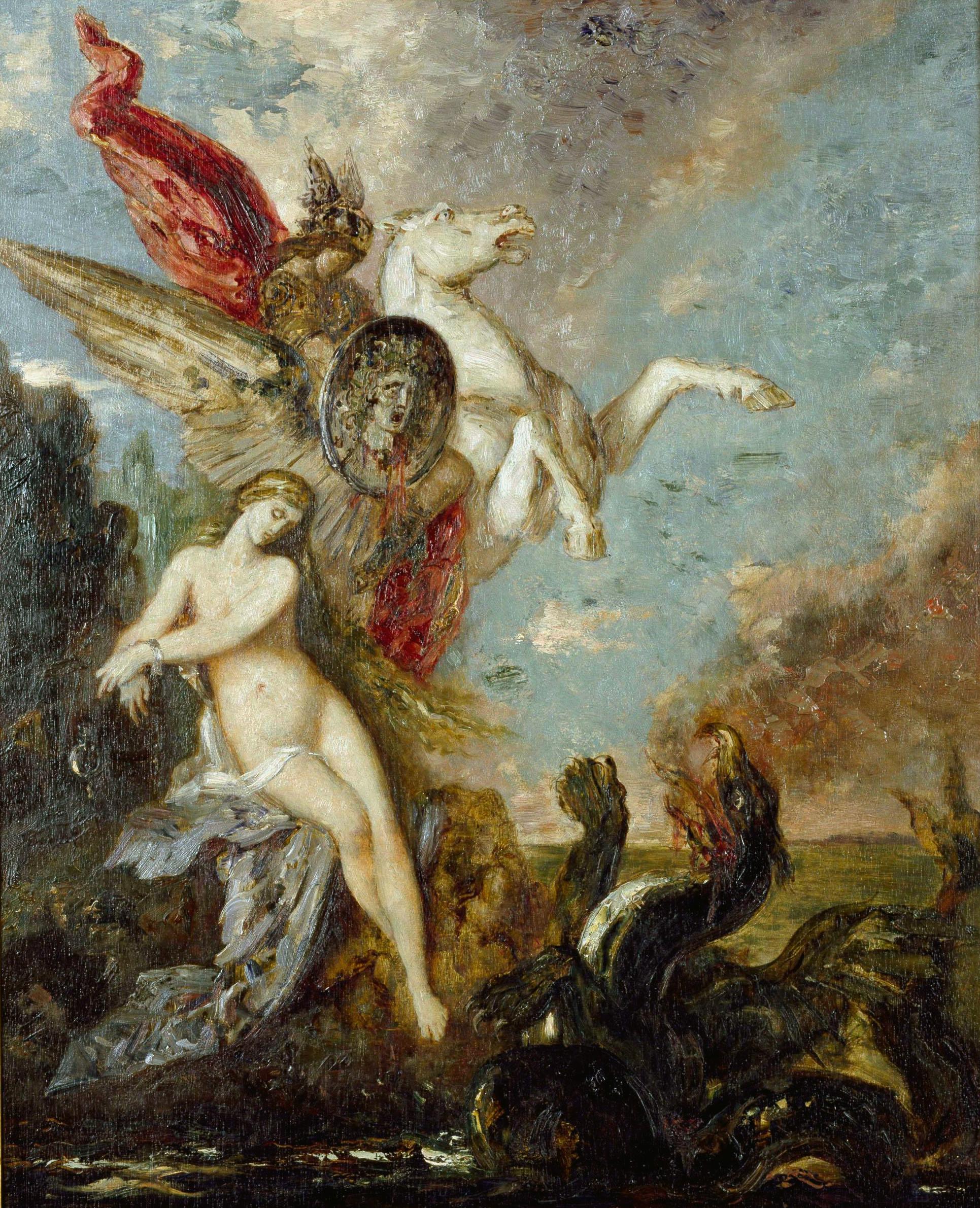 Персей и Андромеда (Париж, музей Гюстава Моро)