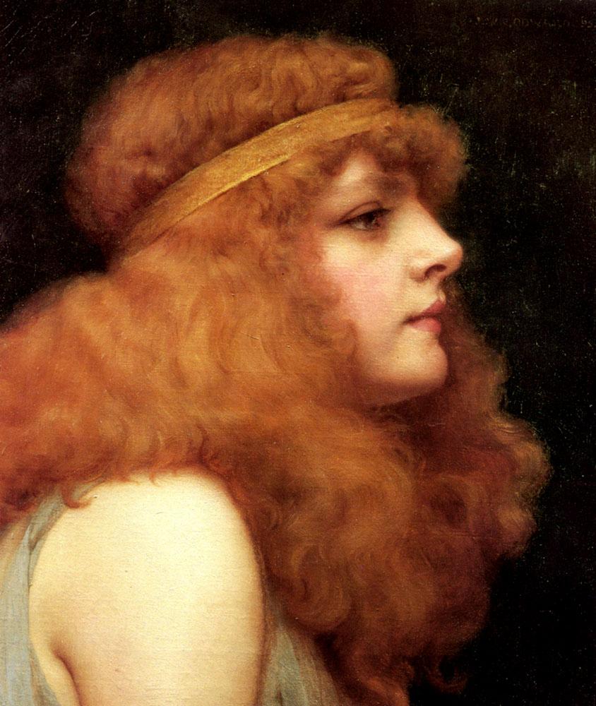 1895_Тёмно-рыжая красавица (частная коллекция)