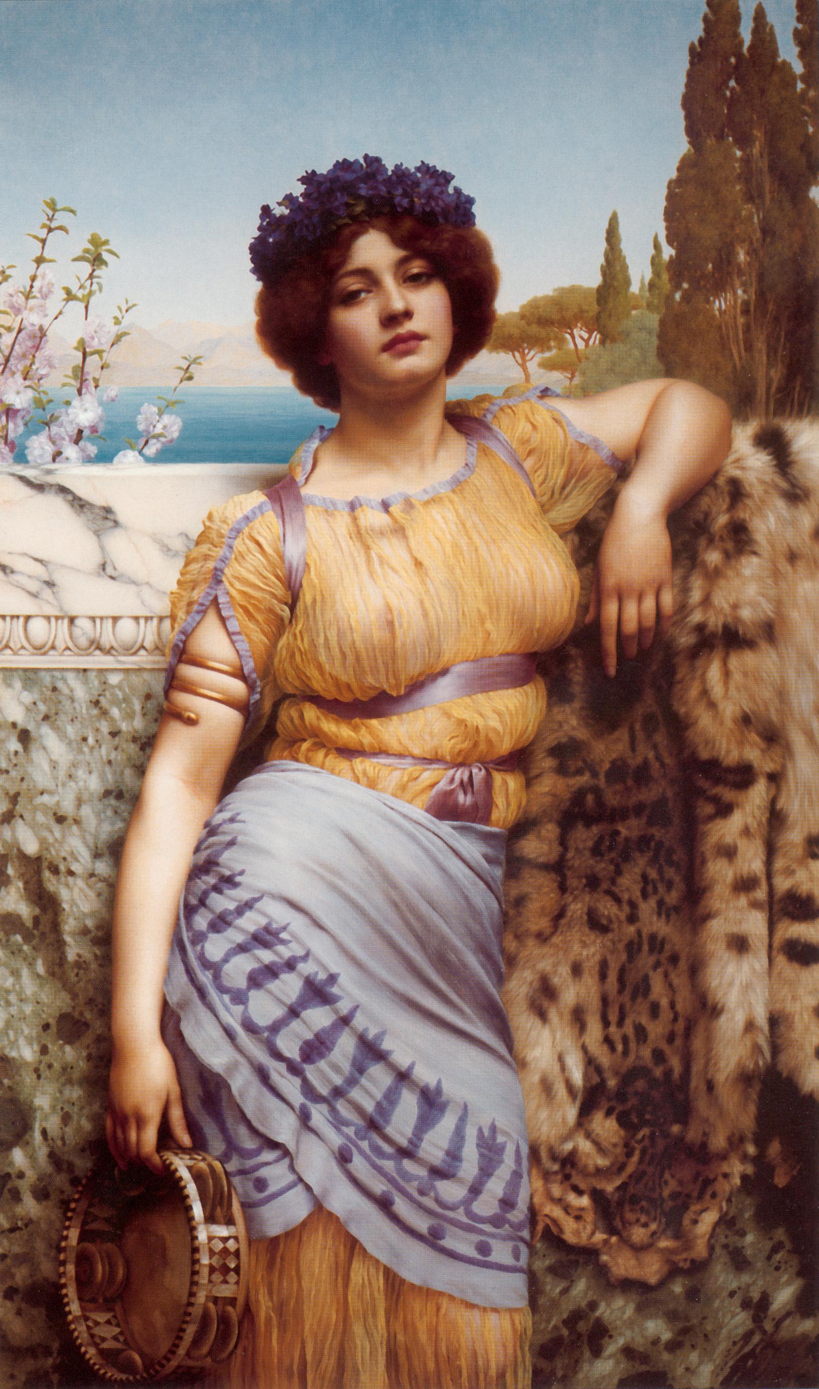 1902_Ионийская танцовщица (частная коллекция)