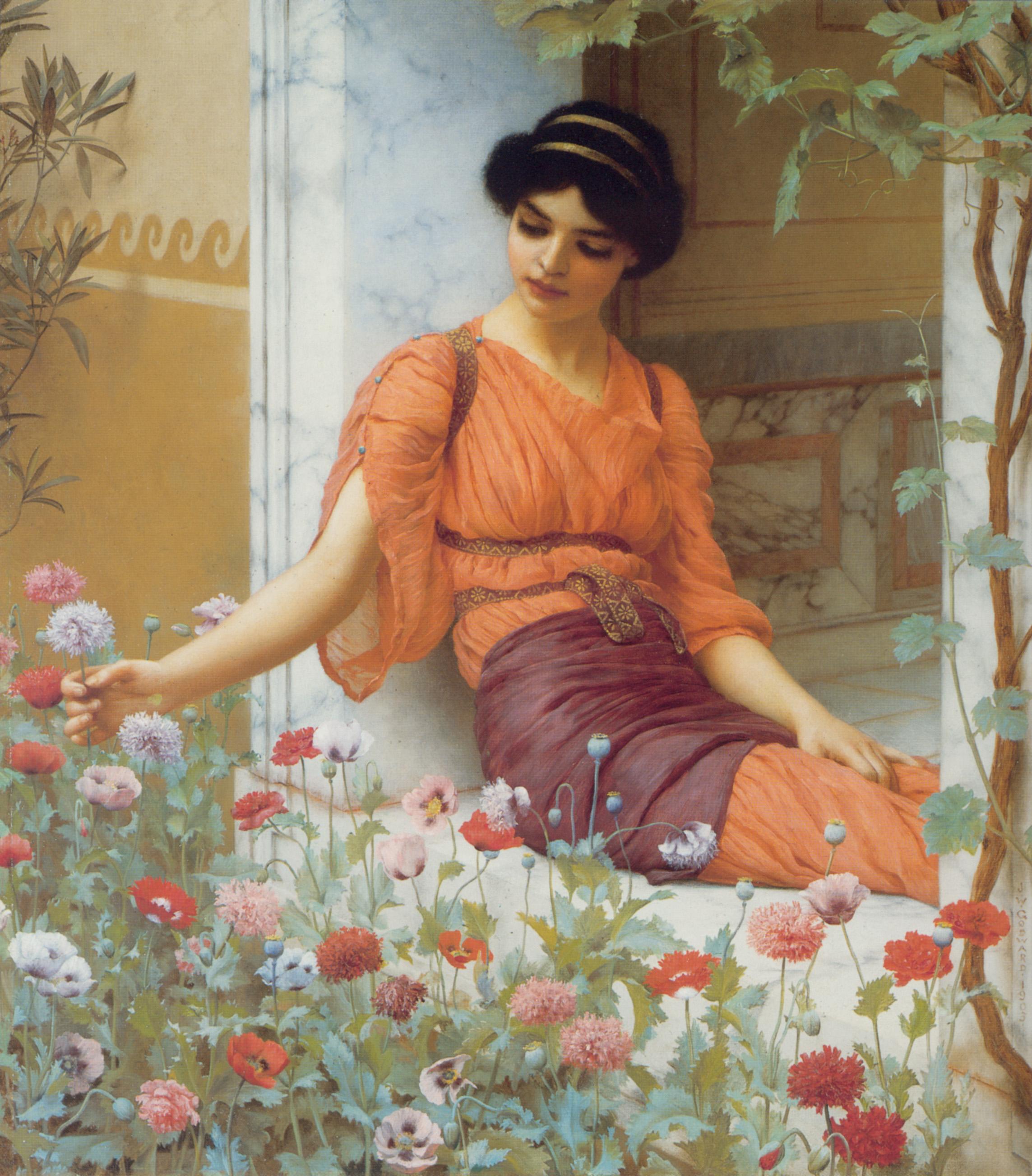 1903_Летние цветы