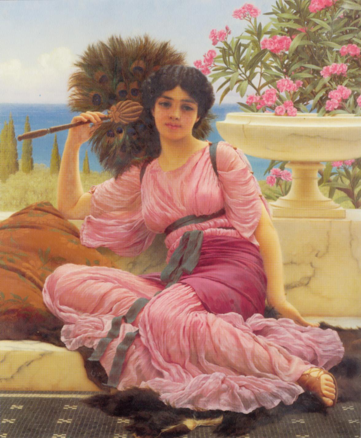 1905_Флабеллифера (рабыня с опахалом) (частная коллекция)
