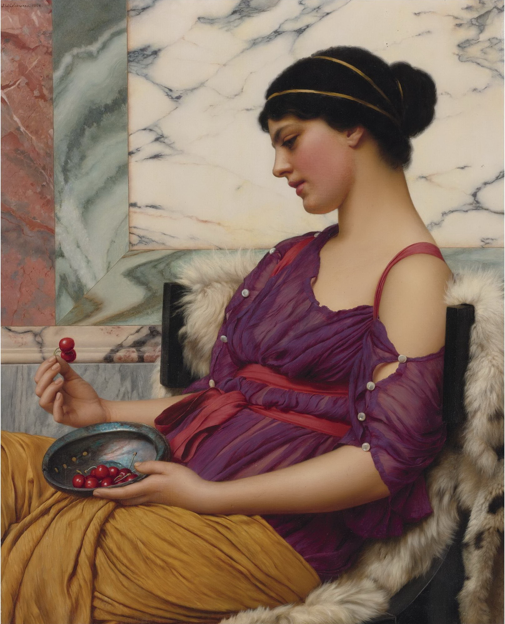 1908_Исмена (беотийская мифическая героиня) (81.2 х 66 см) (ч.с.)