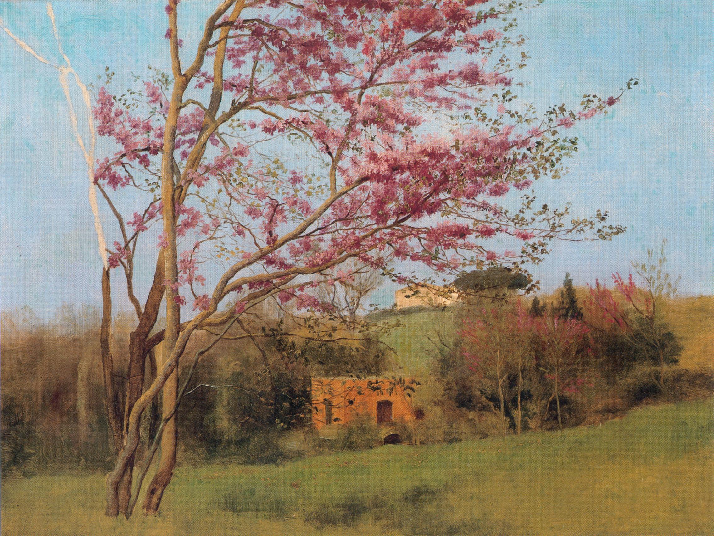 1912 (ок)_Красный миндаль (эскиз) (Collection of Vern and Judy Swanson)