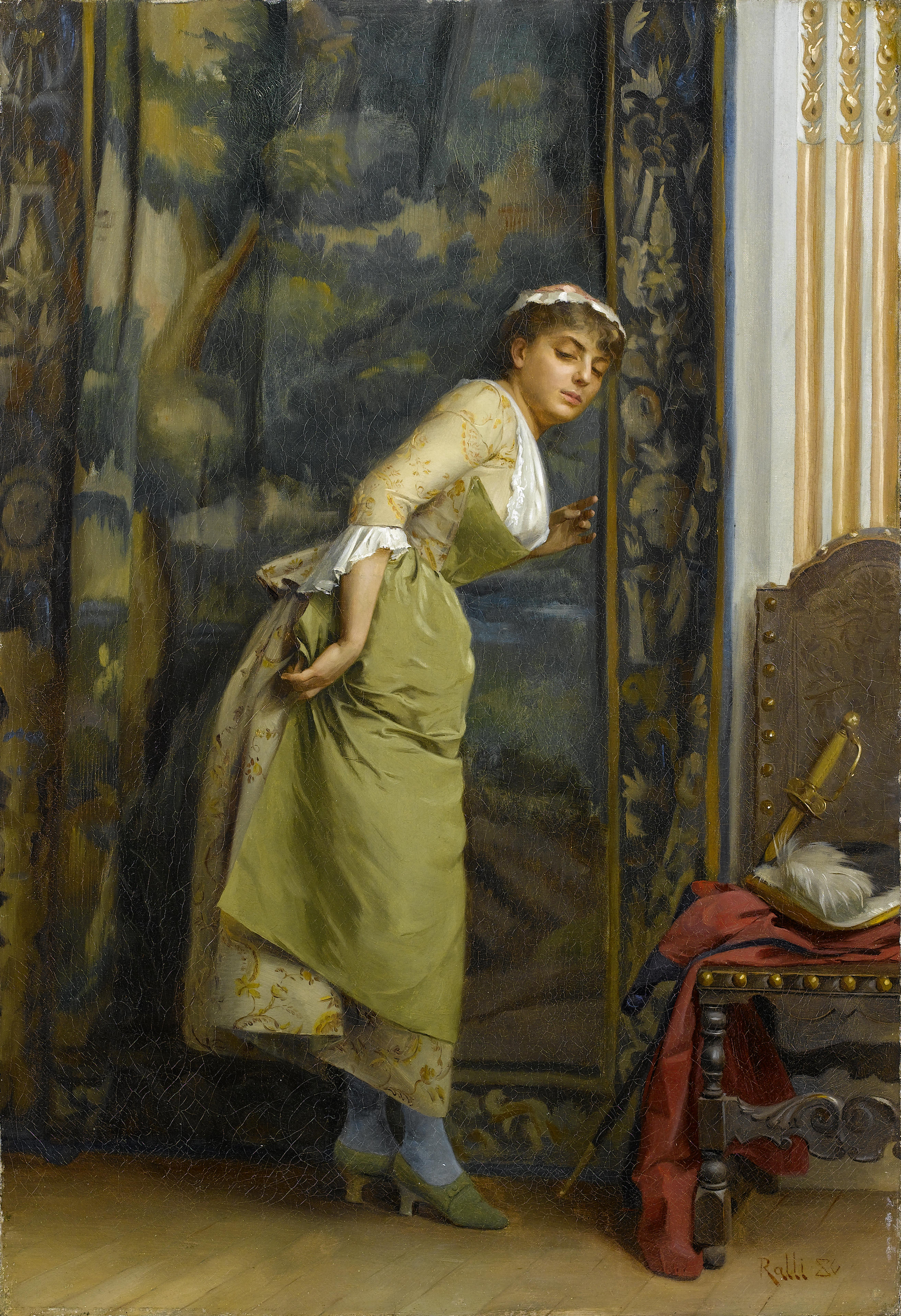 Théodore_Jacques_Ralli_Eavesdropping_1880
