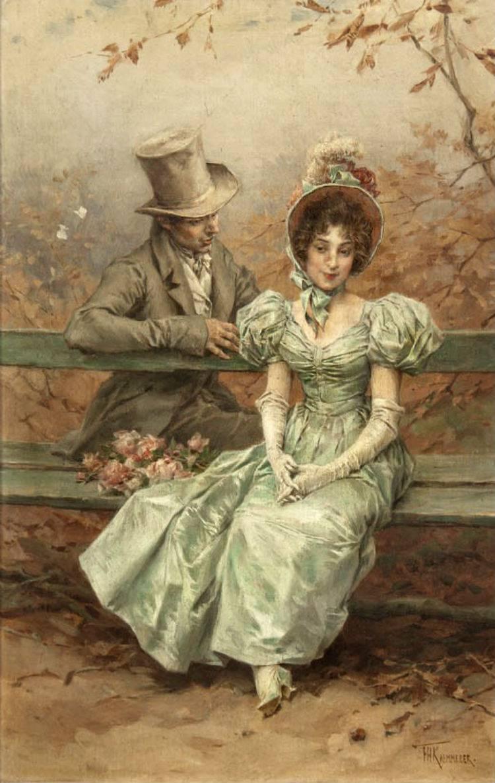 A Flirtation