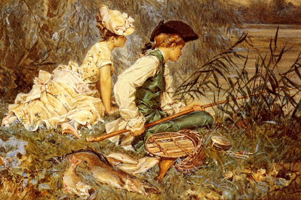 Frederick_Hendrik_Kaemmerer_-_An_Afternoon_Of_Fishing