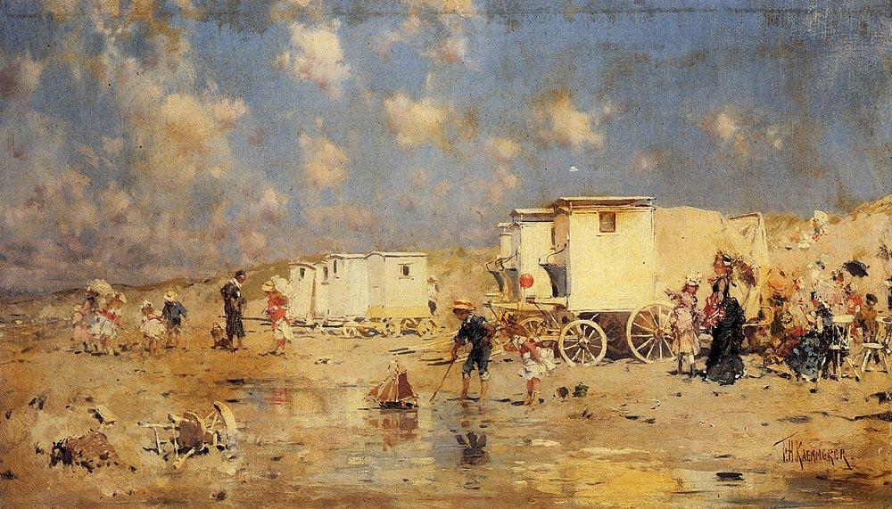 Frederick_Hendrik_Kaemmerer_-_The_Beach_At_Scheveningen2_Holland