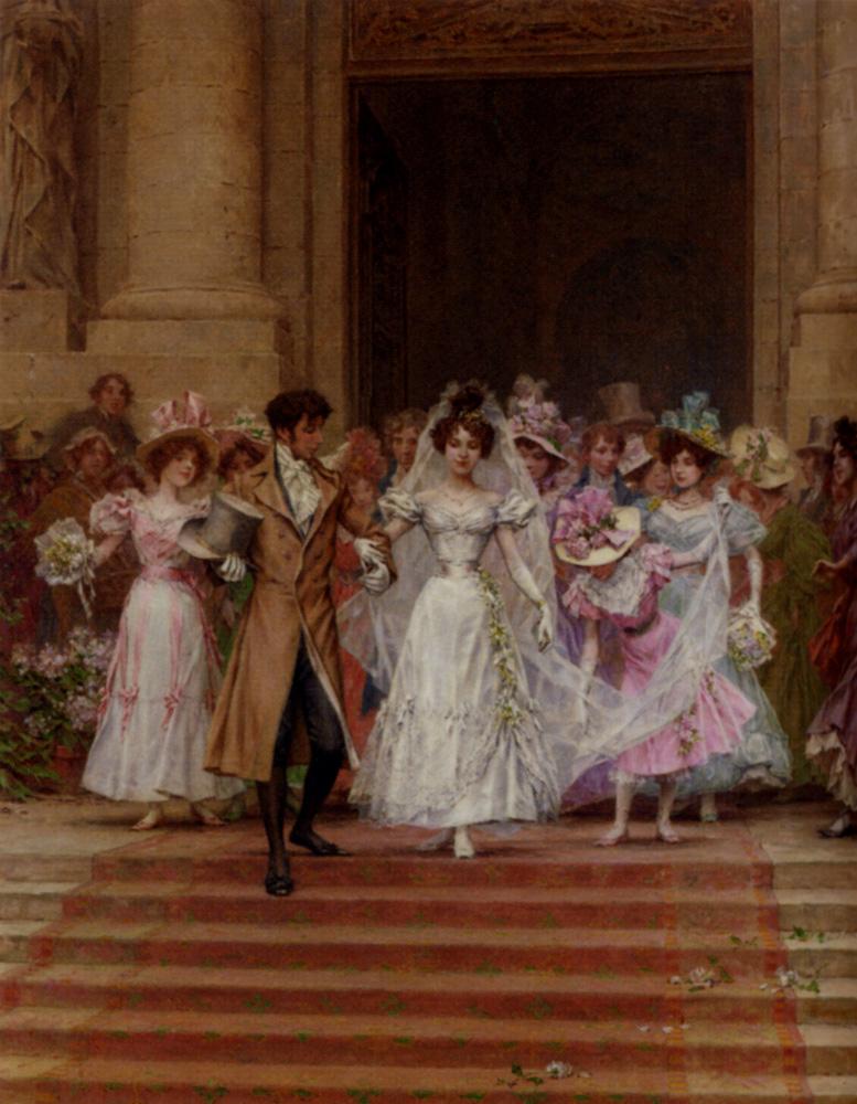 The Wedding, Church Of St. Roch, Paris