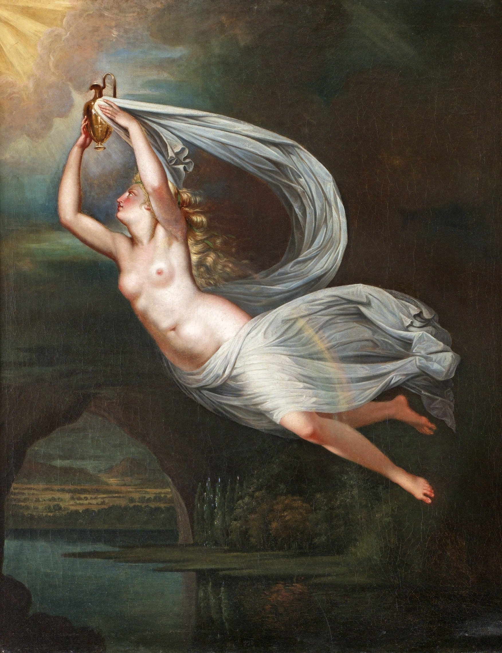 Fredric Westin, 1782-1862. Аврора. 74 х 62 см. Частная коллекция