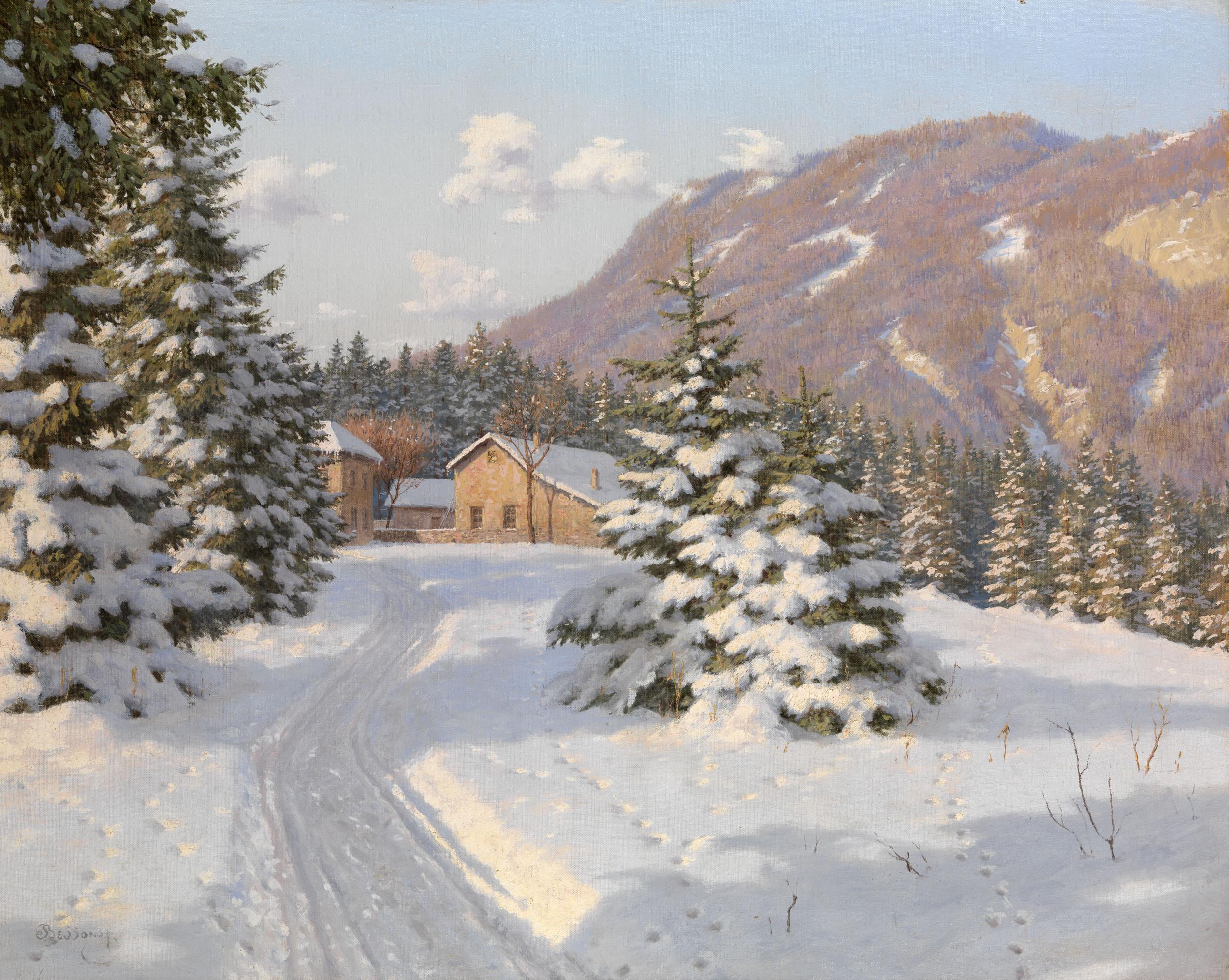 BESSONOV, BORIS Winter Landscape,