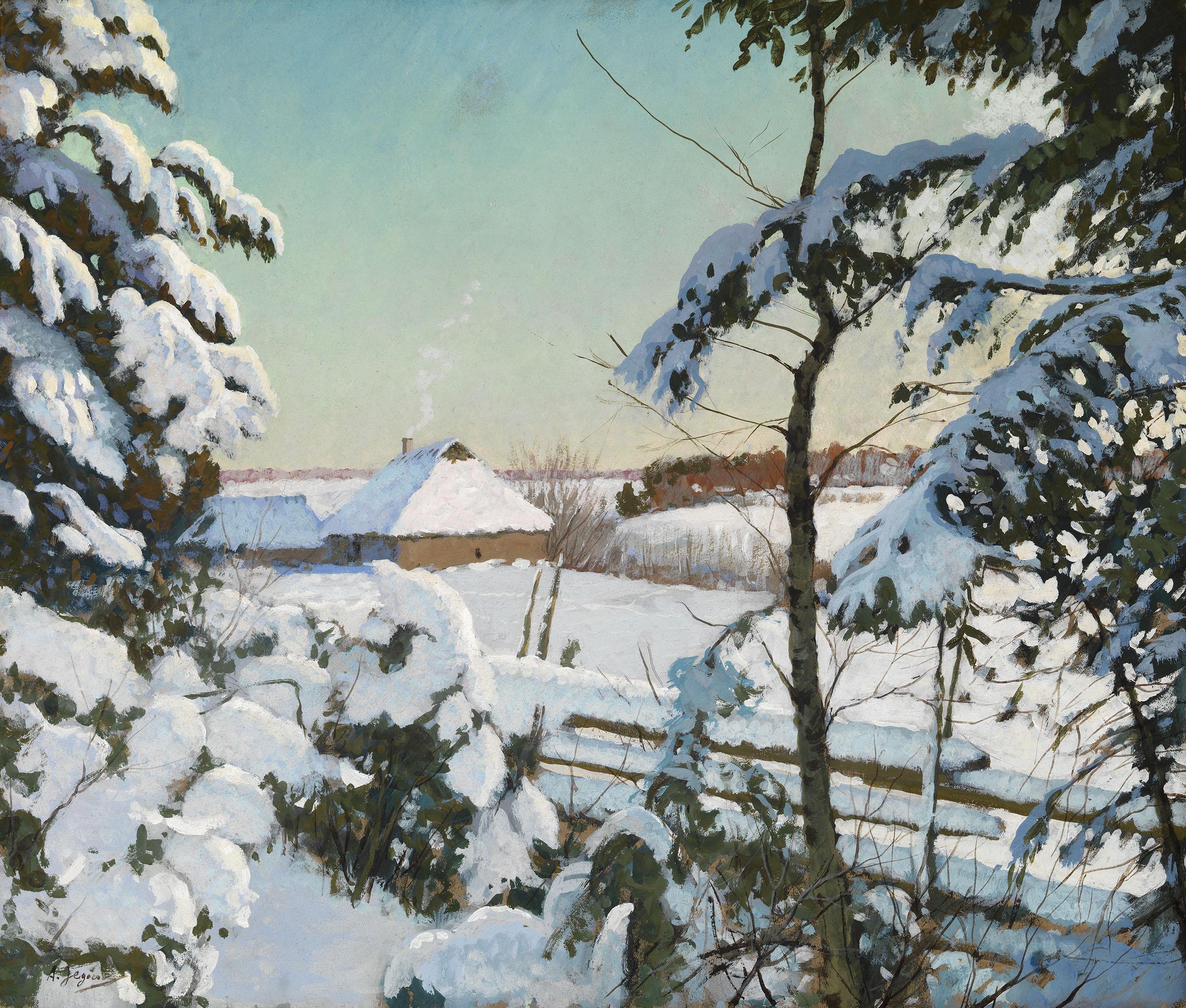 EGOROV, ANDREI Winter Landscape 2