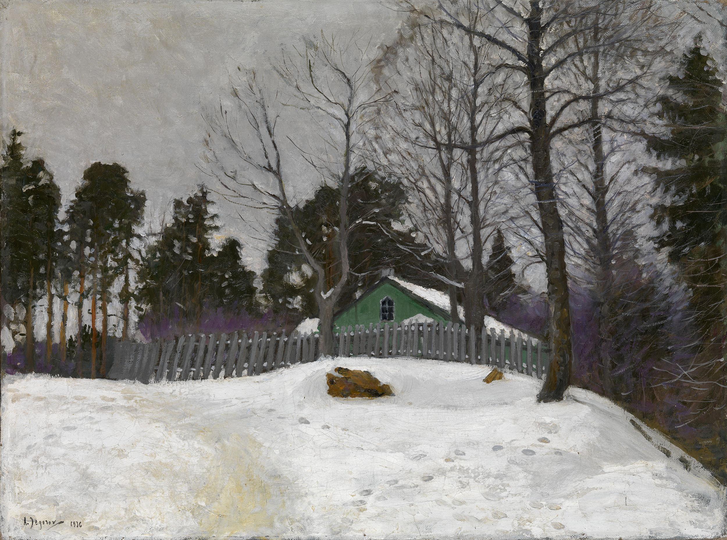 EGOROV, ANDREI Winter Landscape