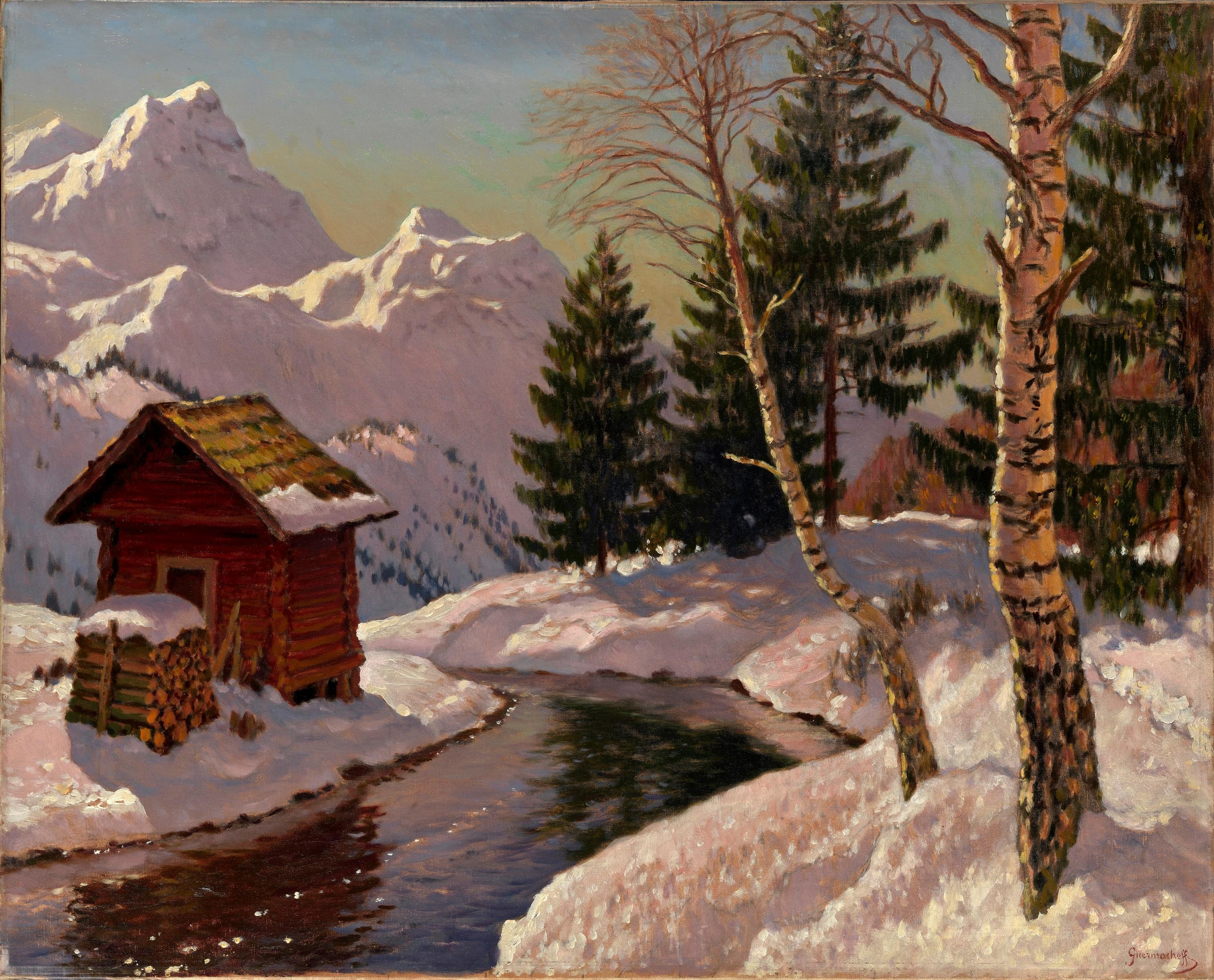 GERMASHEV, MIKHAIL Winter Landscape