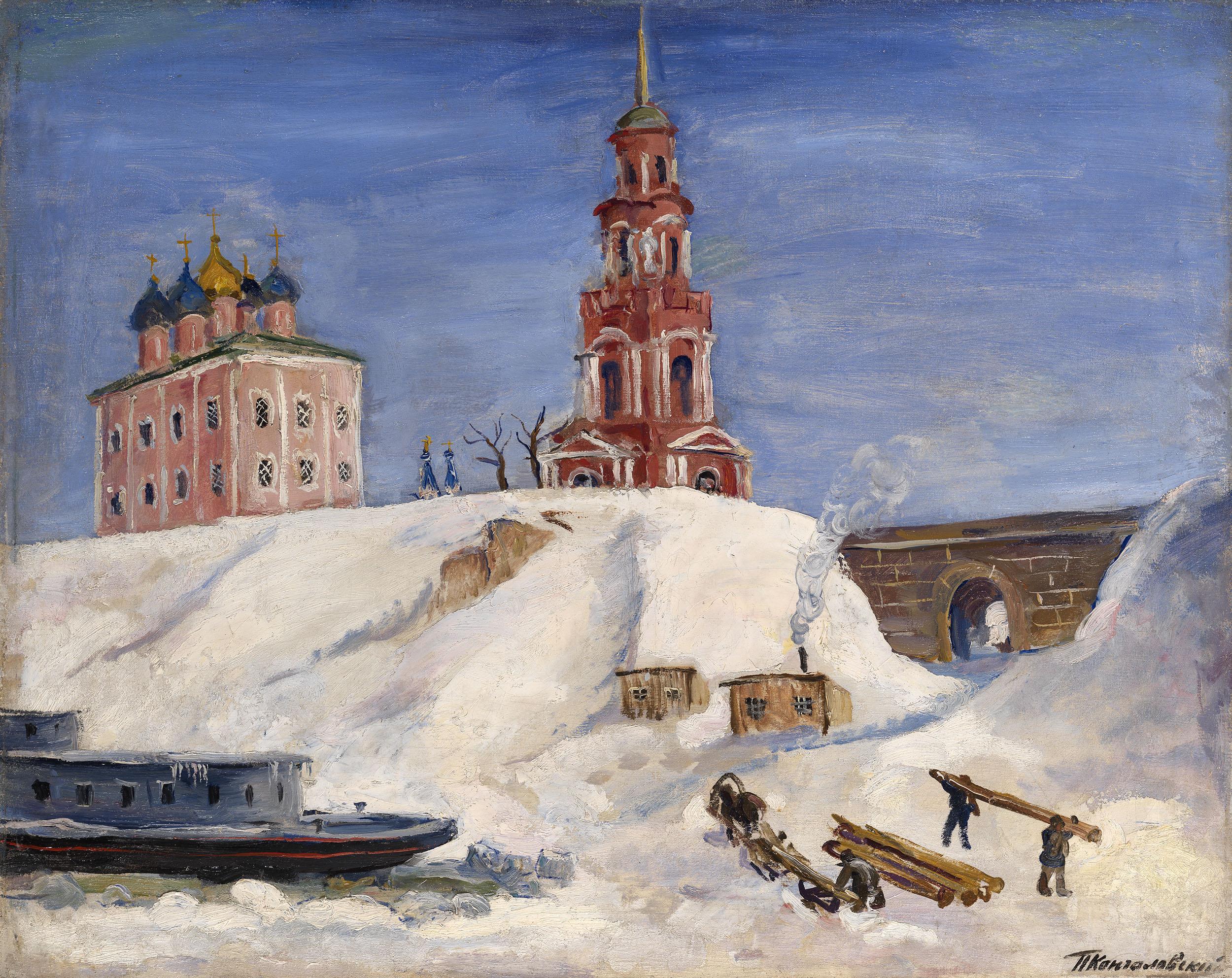 KONCHALOVSKY, PETR Pier at Ryazan