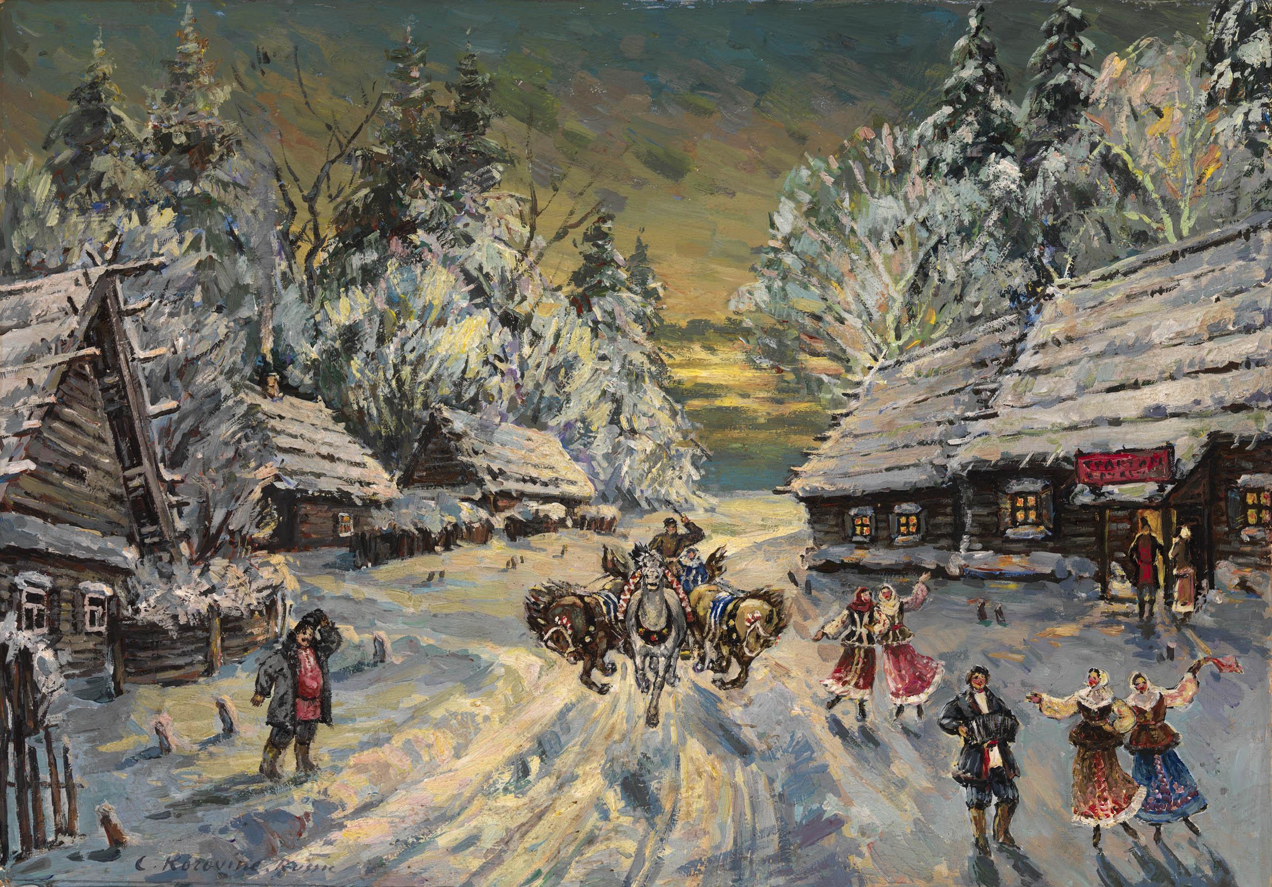 KOROVIN, KONSTANTIN Russian Winter