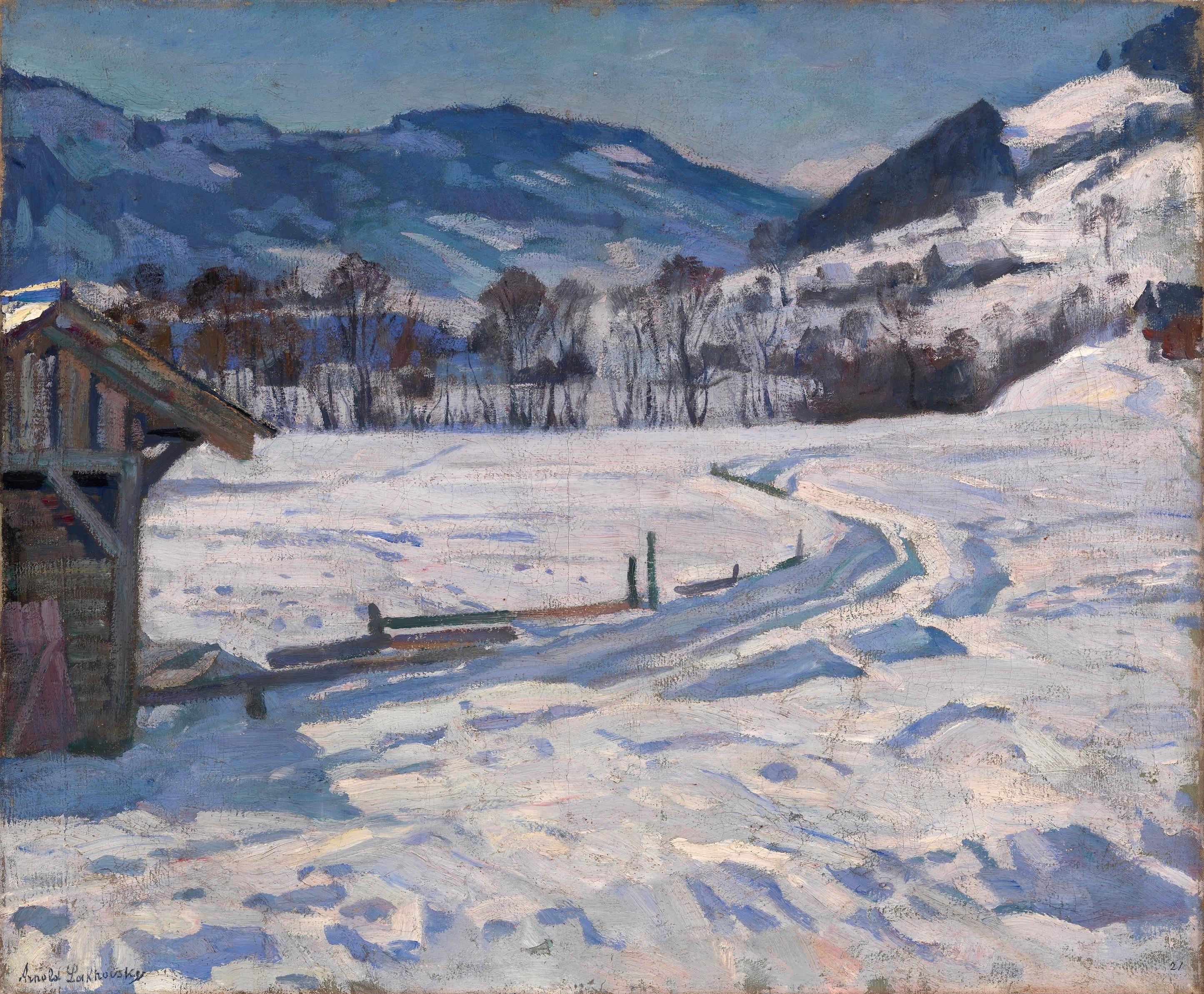 LAKHOVSKY, ARNOLD Winter Landscape