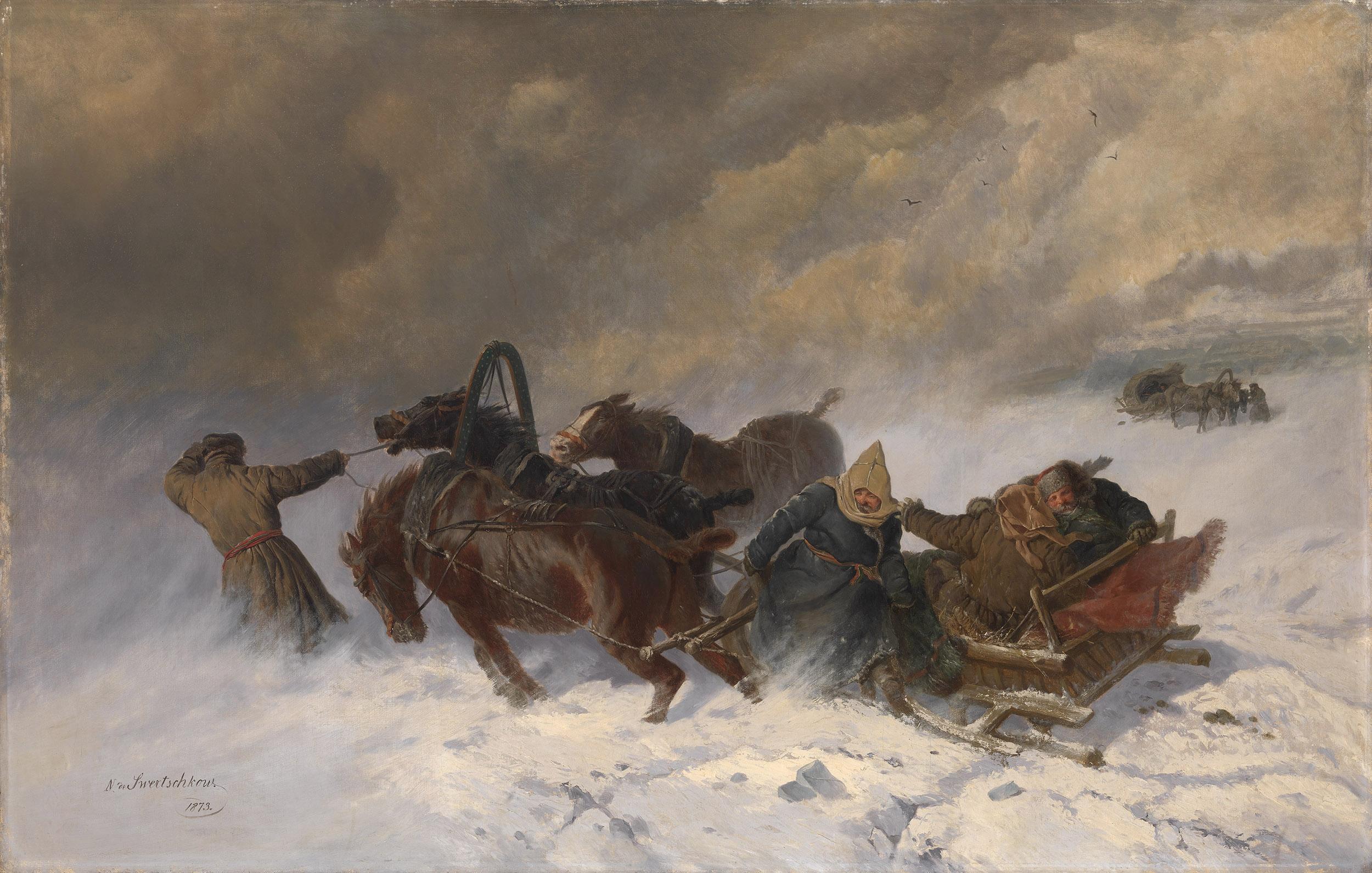 SVERCHKOV, NIKOLAI Into the Blizzard