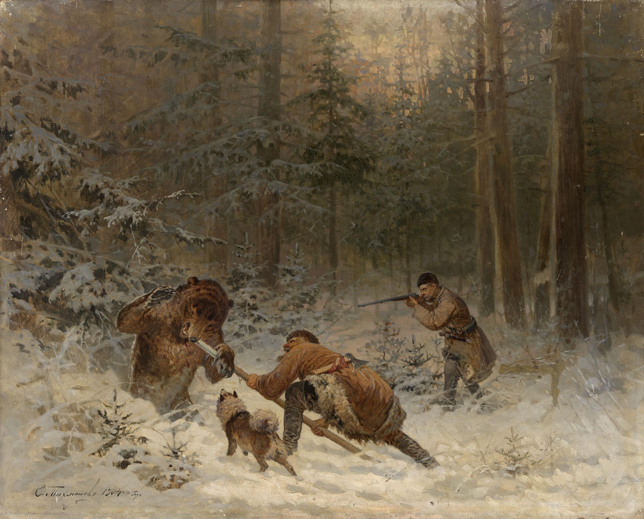 TIKHMENEV, EVGENY Bear Hunt