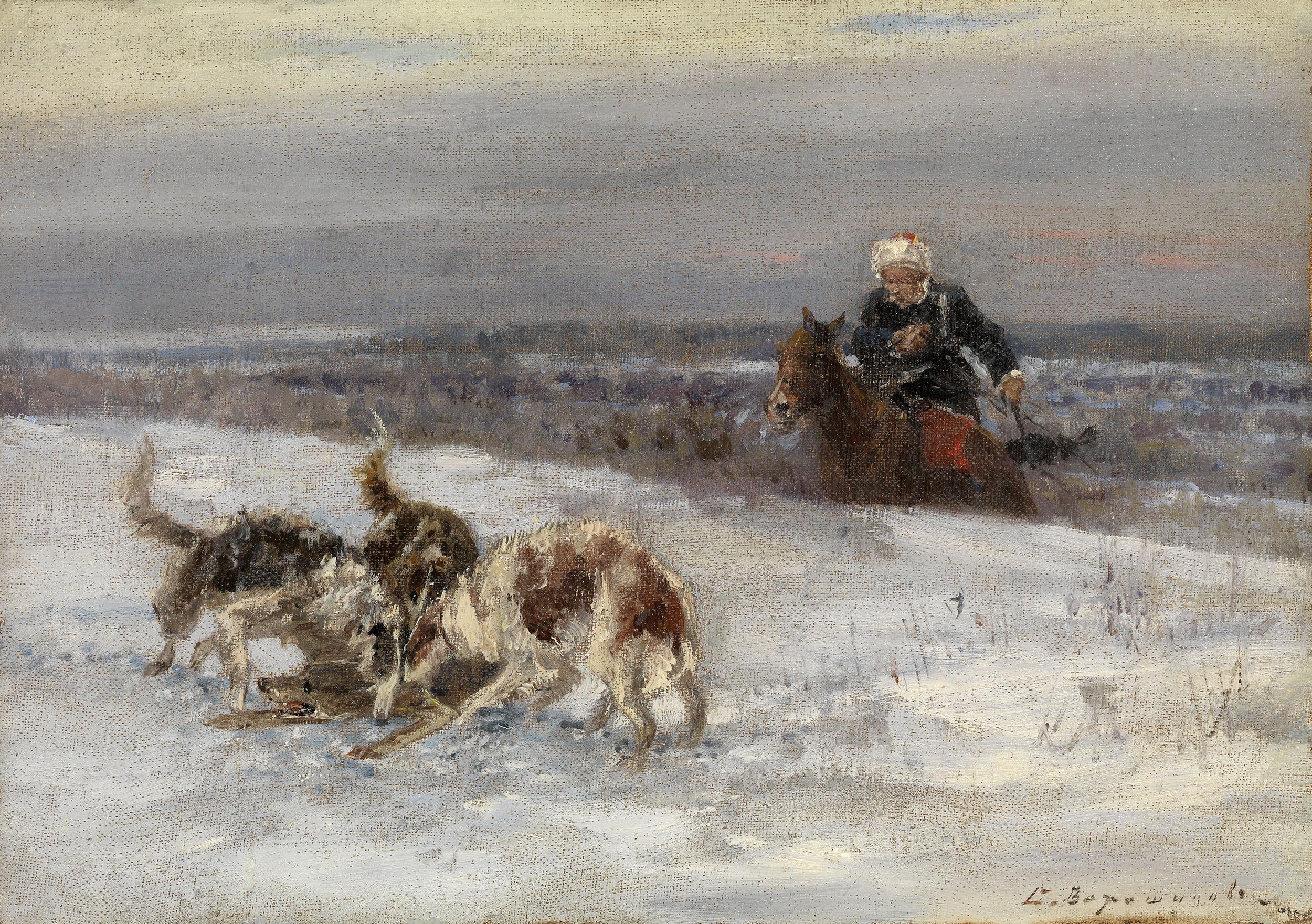 VOROSHILOV, SERGEI Hunting Scene