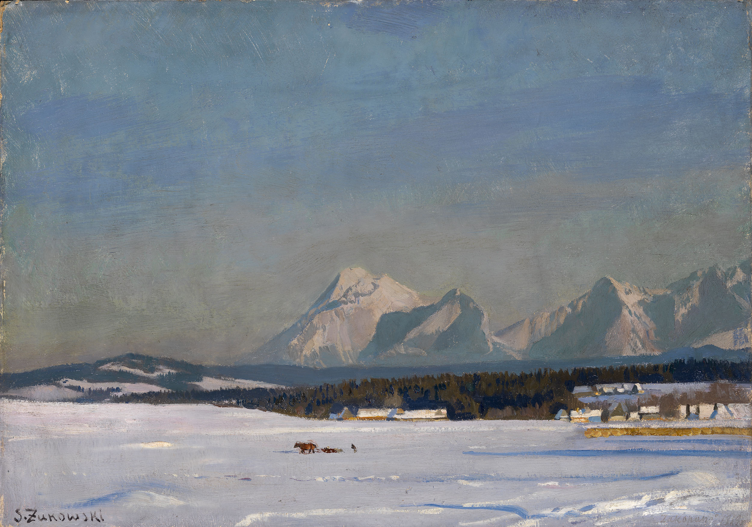 ZHUKOVSKY, STANISLAV Winter Landscape
