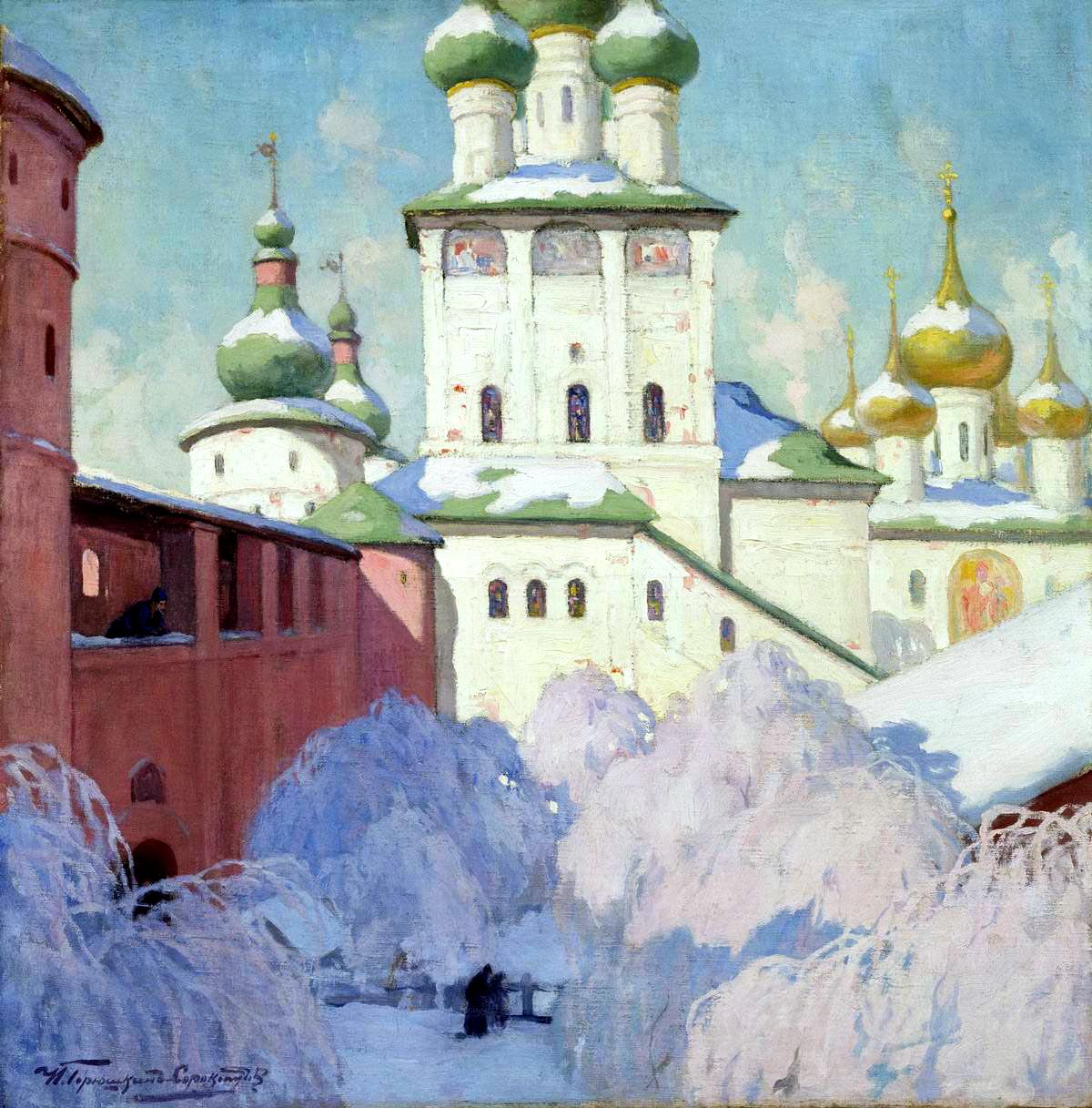 ГОРЮШКИН-СОРОКОПУДОВ Иван - Зима. Ростовский Кремль