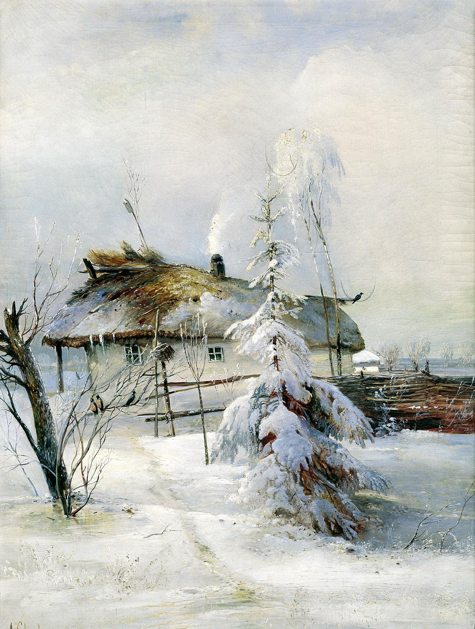 САВРАСОВ Алексей - Зима
