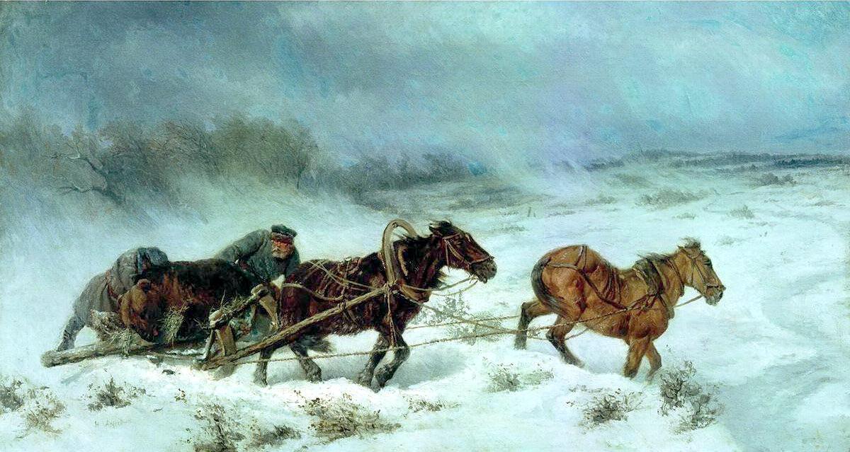 СВЕРЧКОВ Николай - Охота на медведя