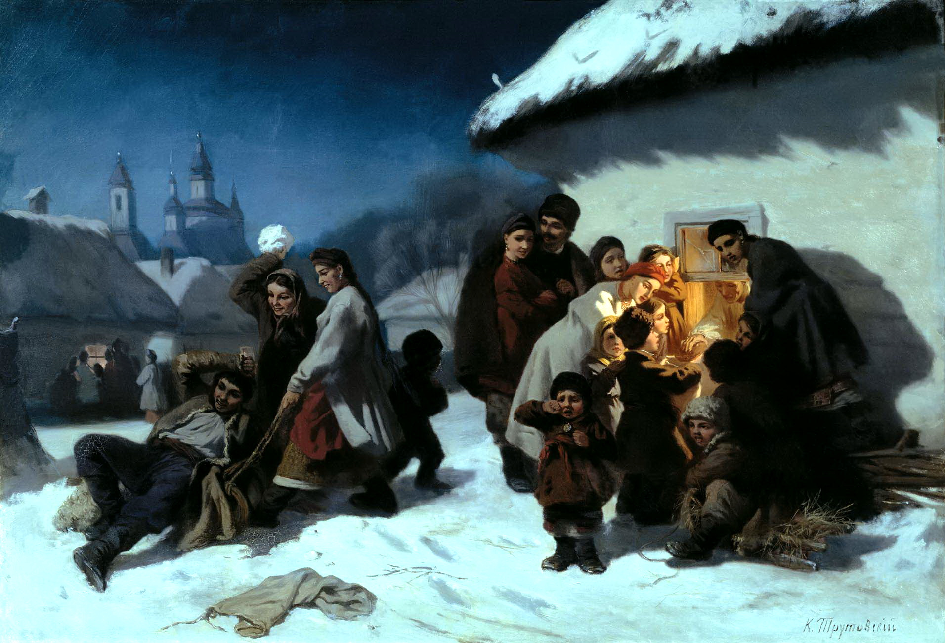 ТРУТОВСКИЙ Константин - Колядки в Малороссии
