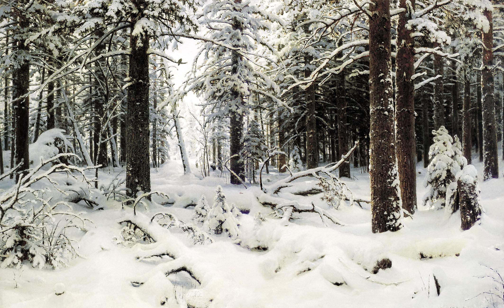 ШИШКИН Иван - Зима